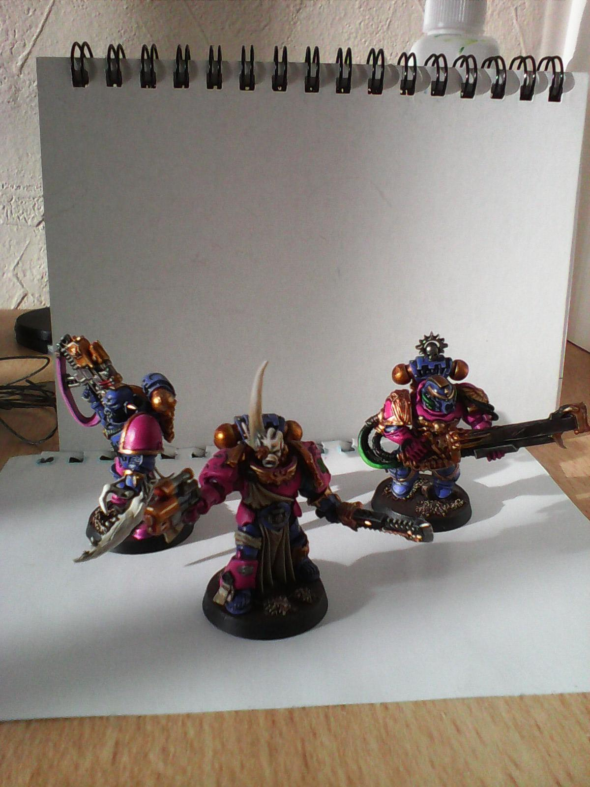 Blastmaster, Champion, Chaos Space Marines, Slaanesh