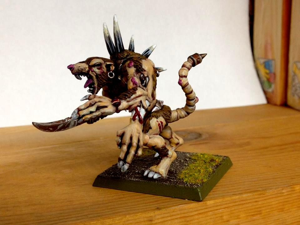 Rat Ogre, Skaven, Warhammer Fantasy
