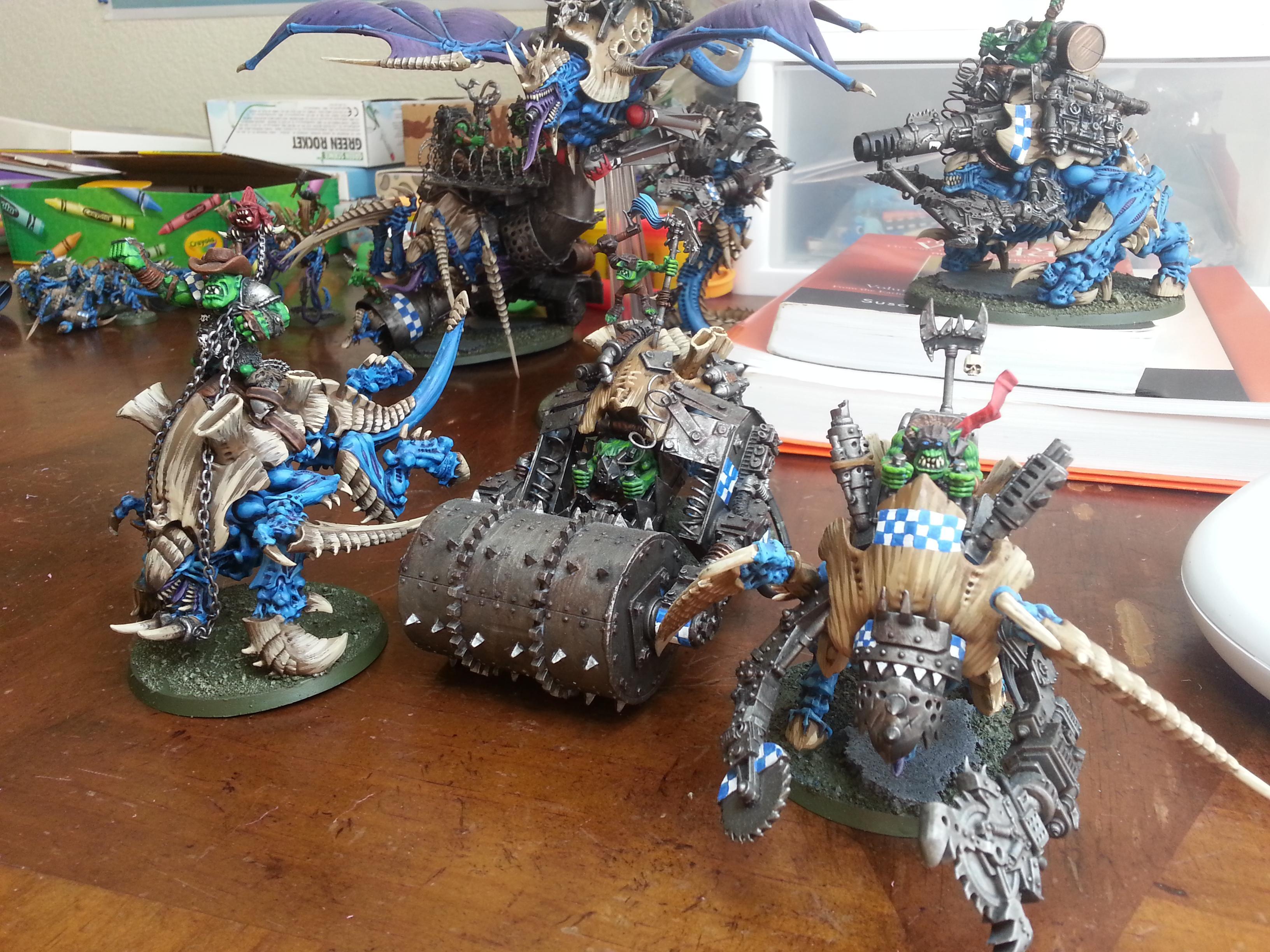 Conversion, Orks, Tyranids, Warhammer 40,000