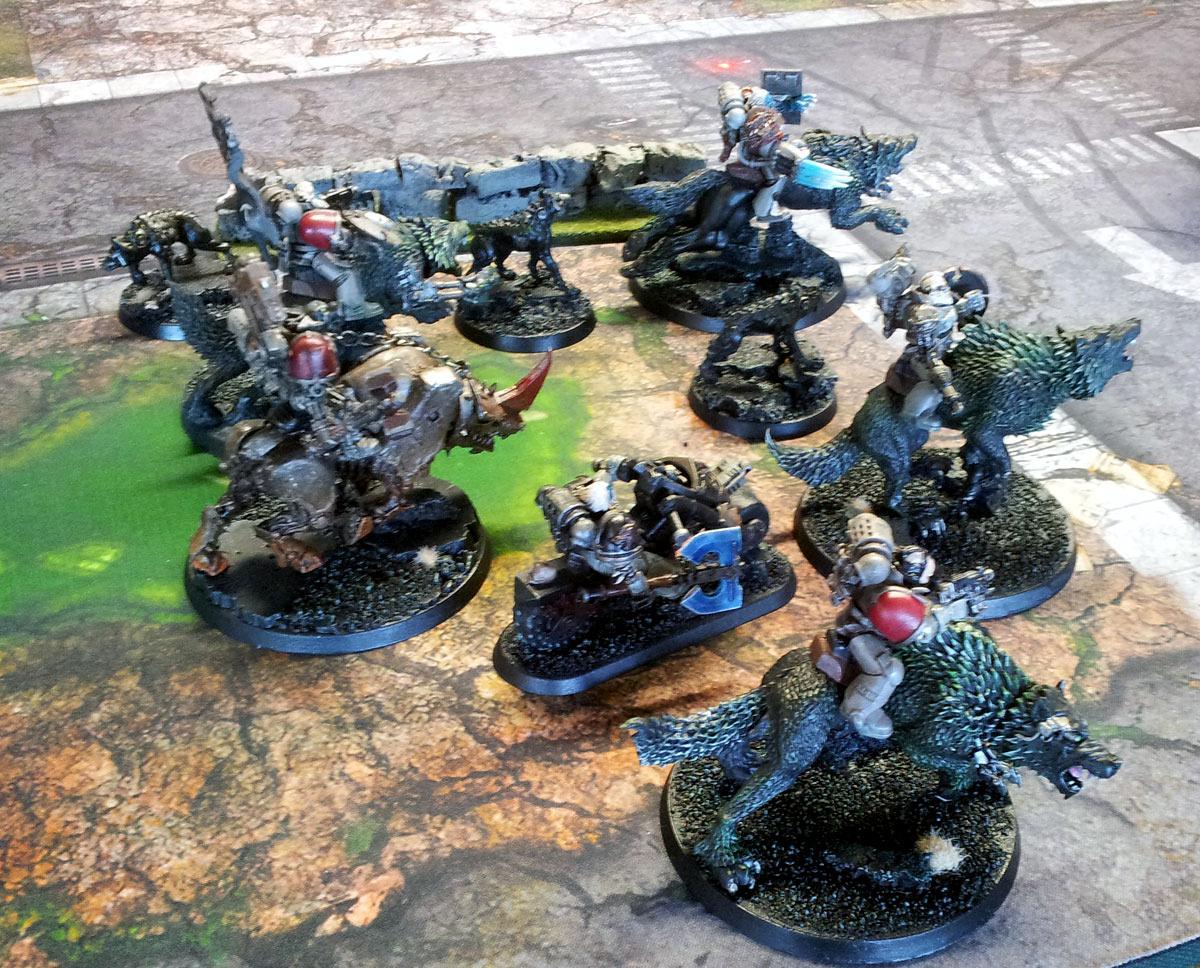 Champions Of Fenris, Thunderwolf Cavalry