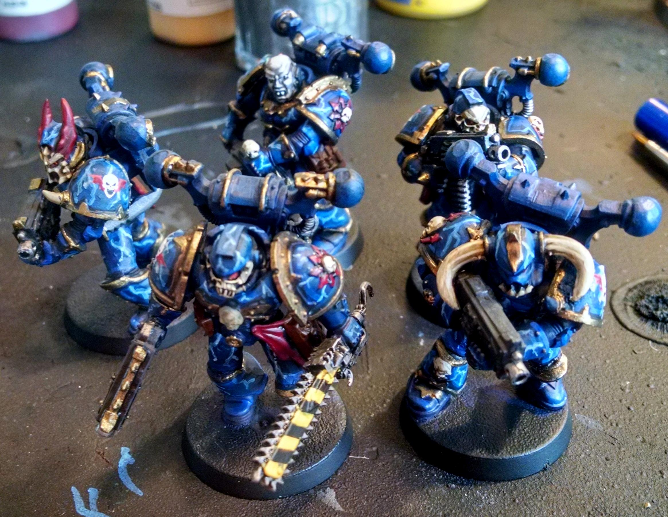 Chaos, Chaos Space Marines, Night Lords, Warhammer 40,000