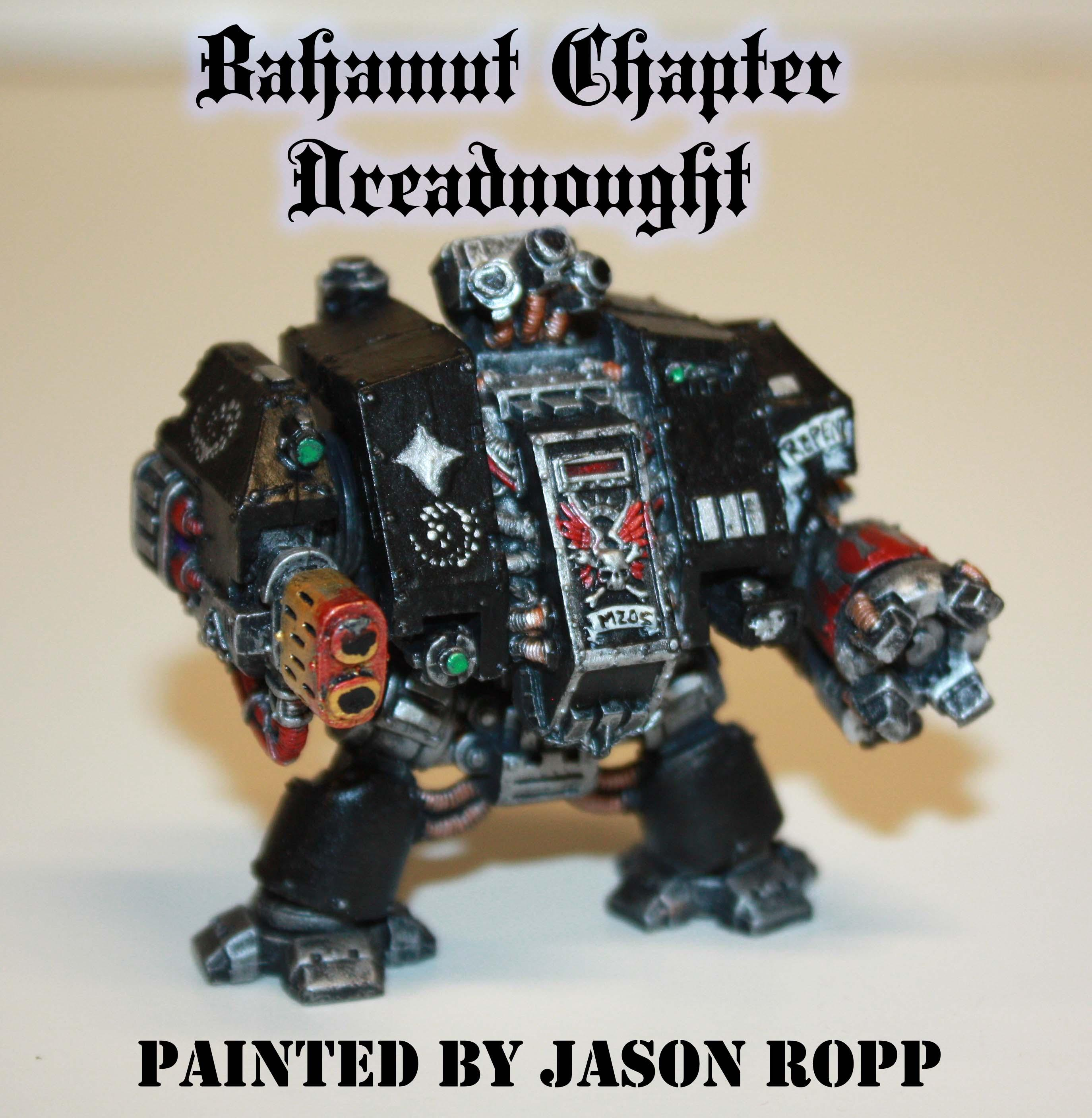30k, Assasins, Bahamut Chapter, Black, Dreadnought, Imperial, Land Speeder, Miniatures, Painted, Silver, Snipers, Space, Space Marines, Warhammer 40,000, Warhammer Fantasy