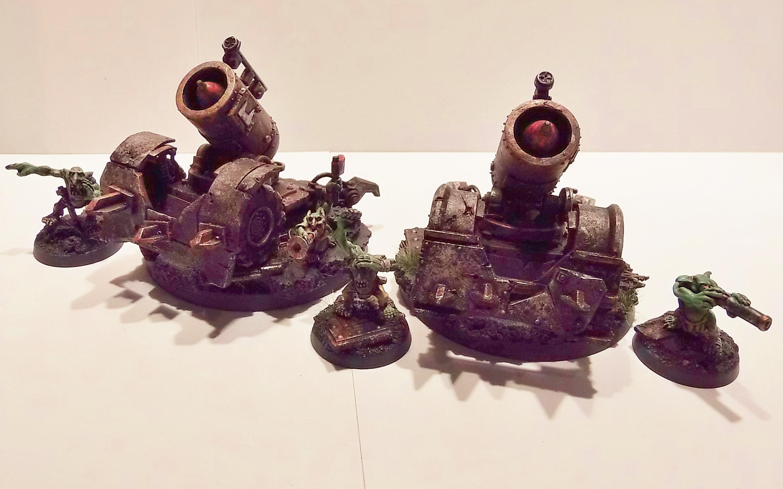 Big Gunz, Goblins, Grotz, Magnet, Mek Gunz, Painted