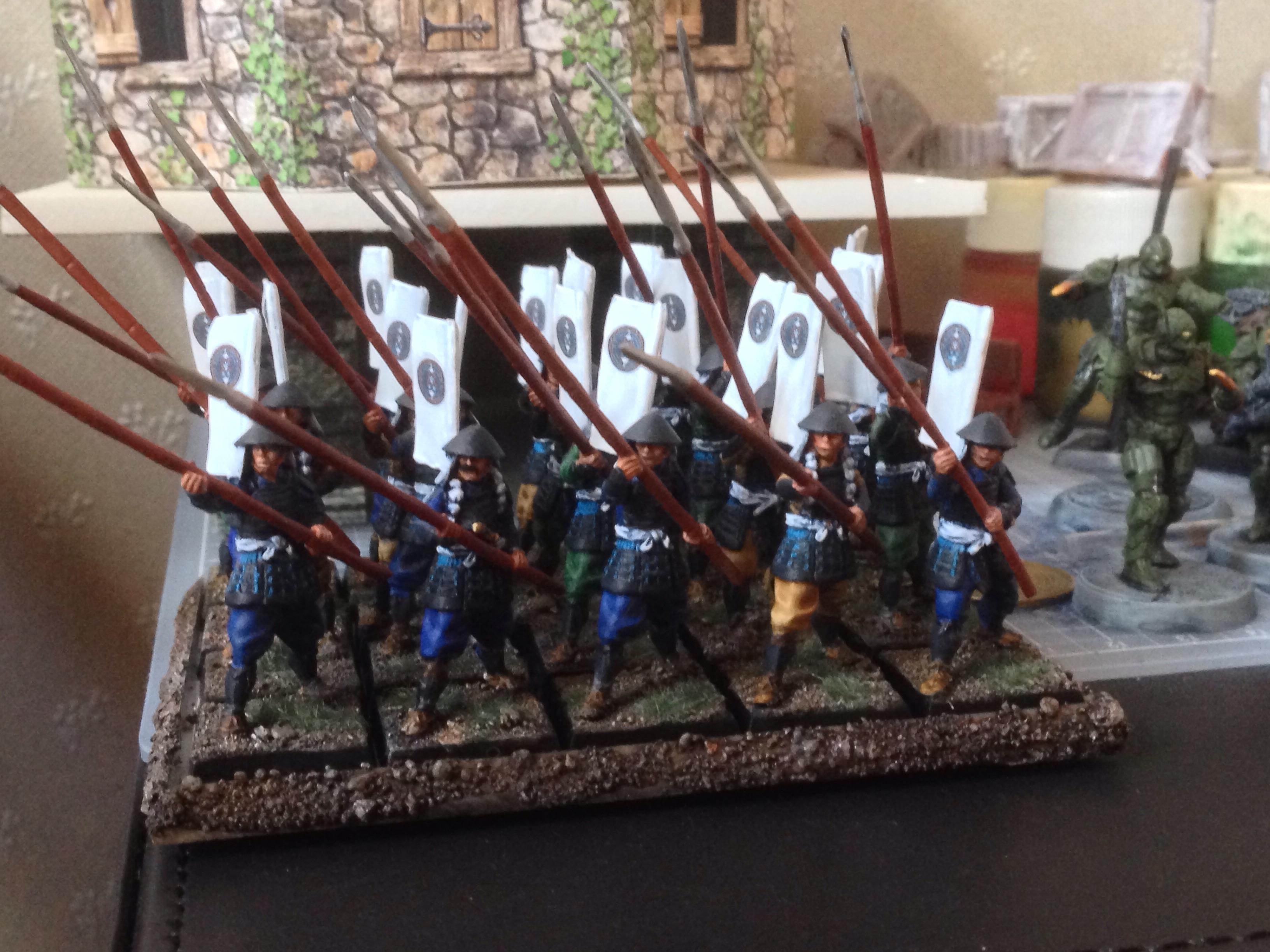 Ashigaru, Samurai, Zenit