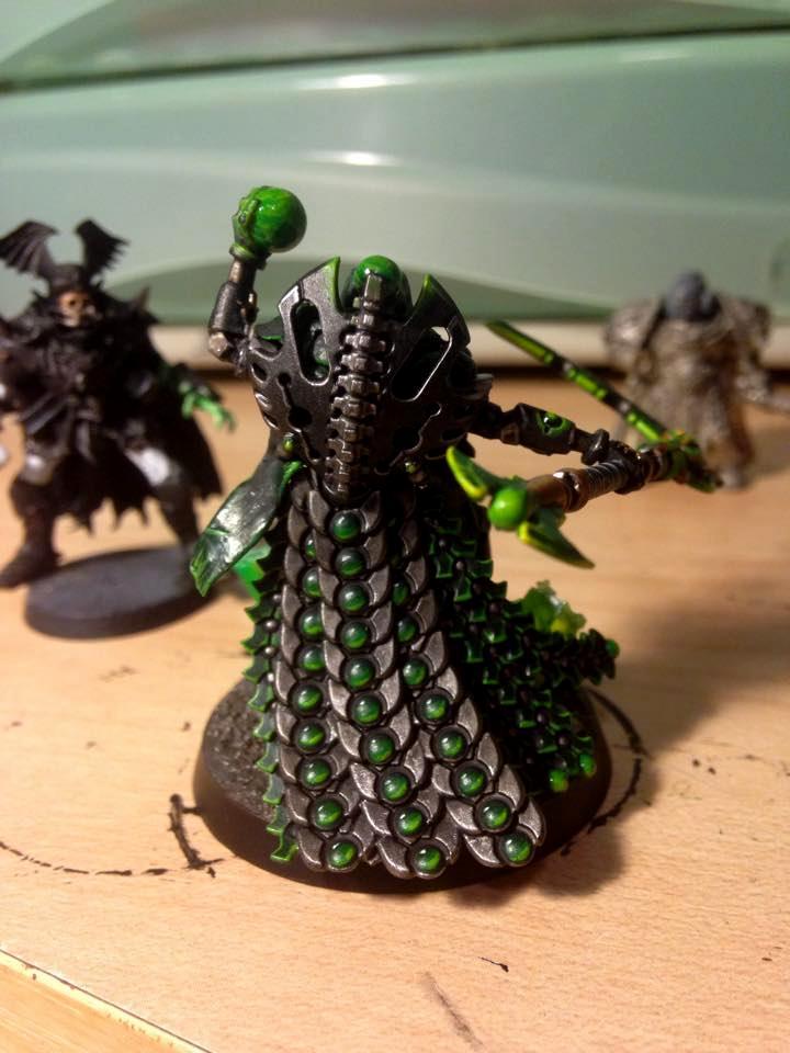 Cape, Conversion, Green, Necrons, New, Overlord, Plastic, Stuff
