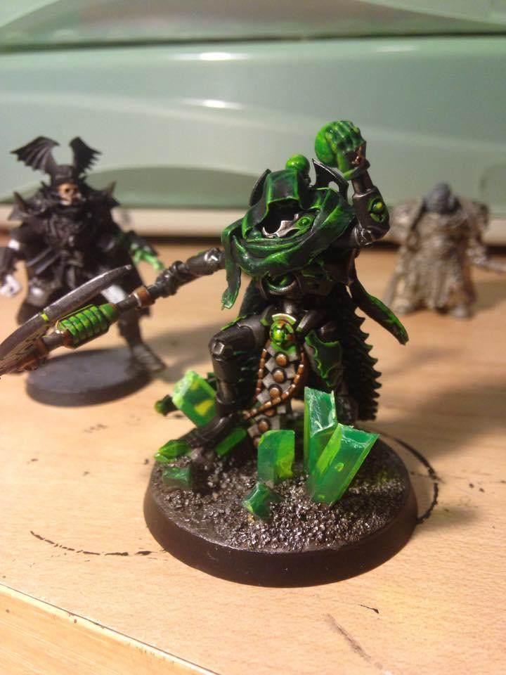Cape, Conversion, Green, Necrons, New, Overlord, Plastic, Stuff