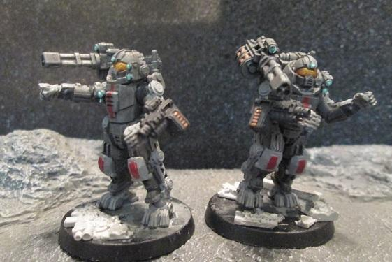 Republic Raider Exoskeletons