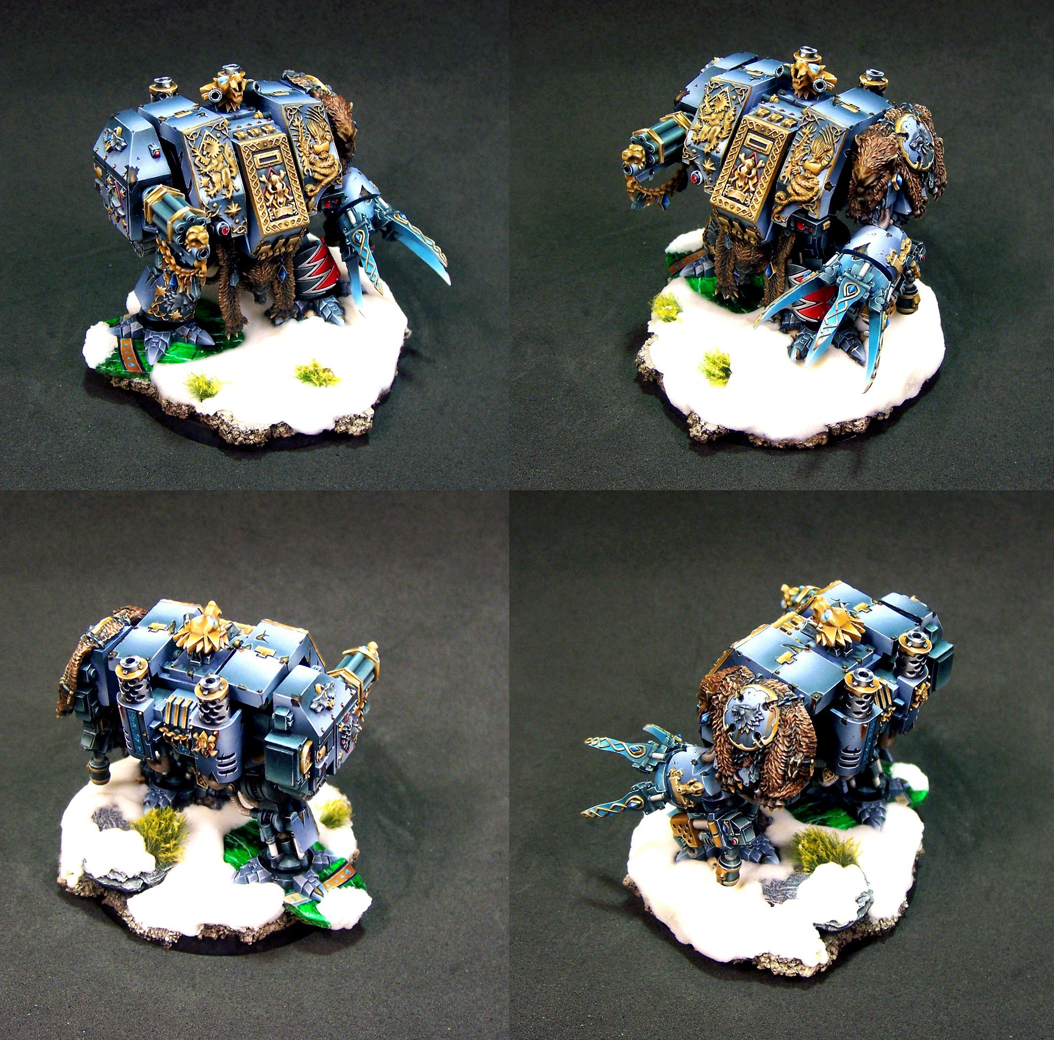 Bjorn, Dreadnought, Space Wolves, Warhammer 40,000