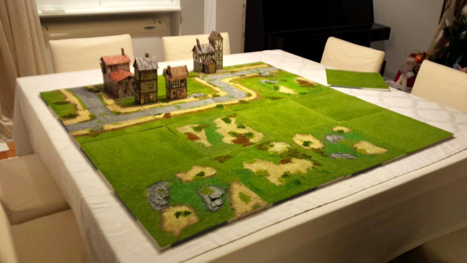4x4, Game Table, Modular, Pedion, Terrain, Wargame