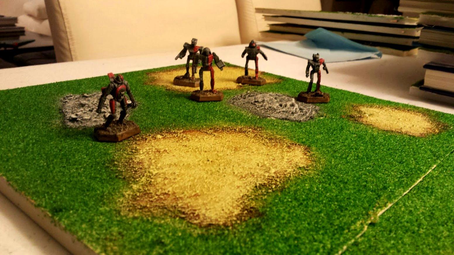 Battletech, Difficult Ground, Modular, Pe3dion, Terrain
