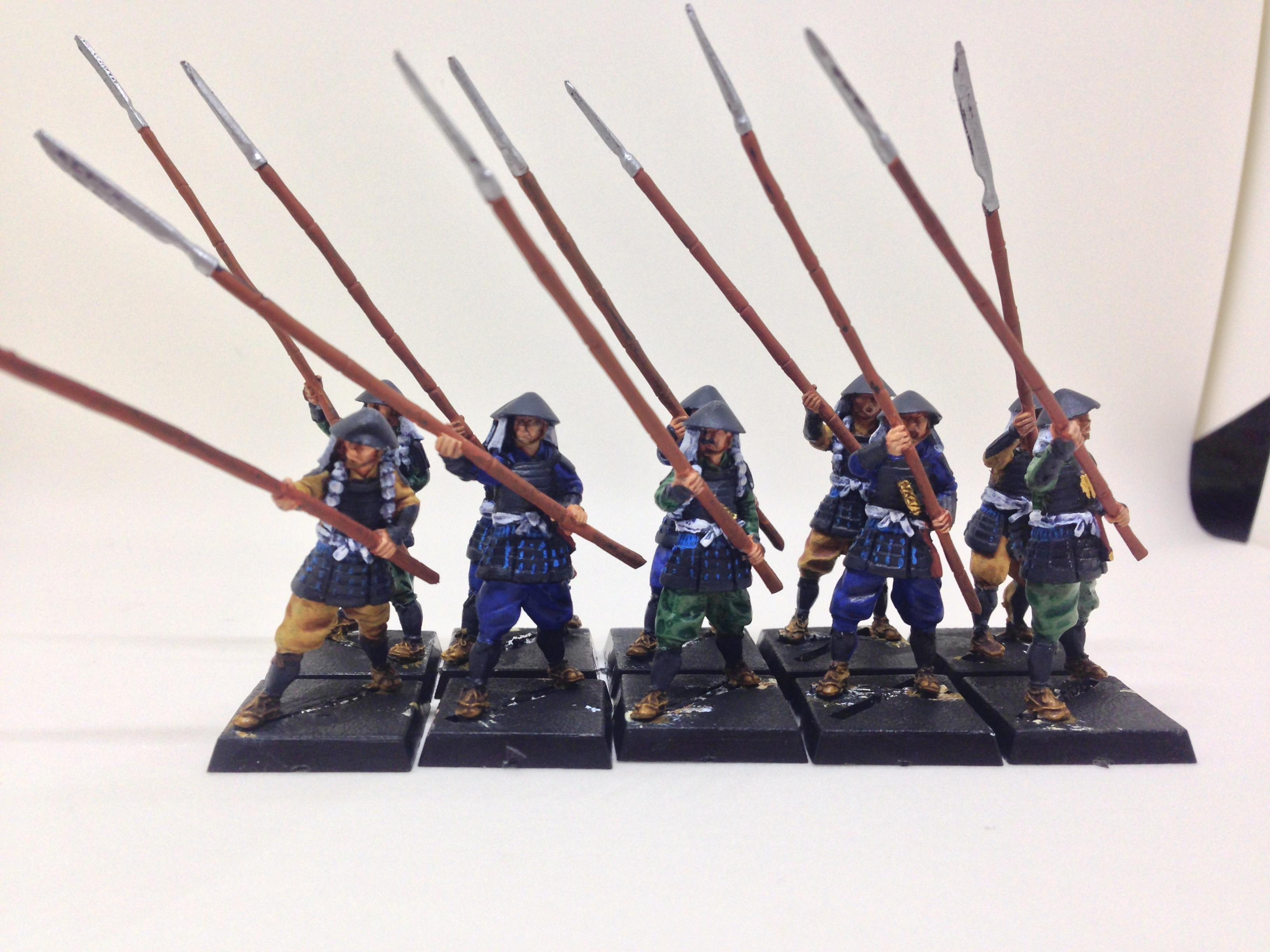 Ashigaru, Samurai, Spear, Yari, Zenit