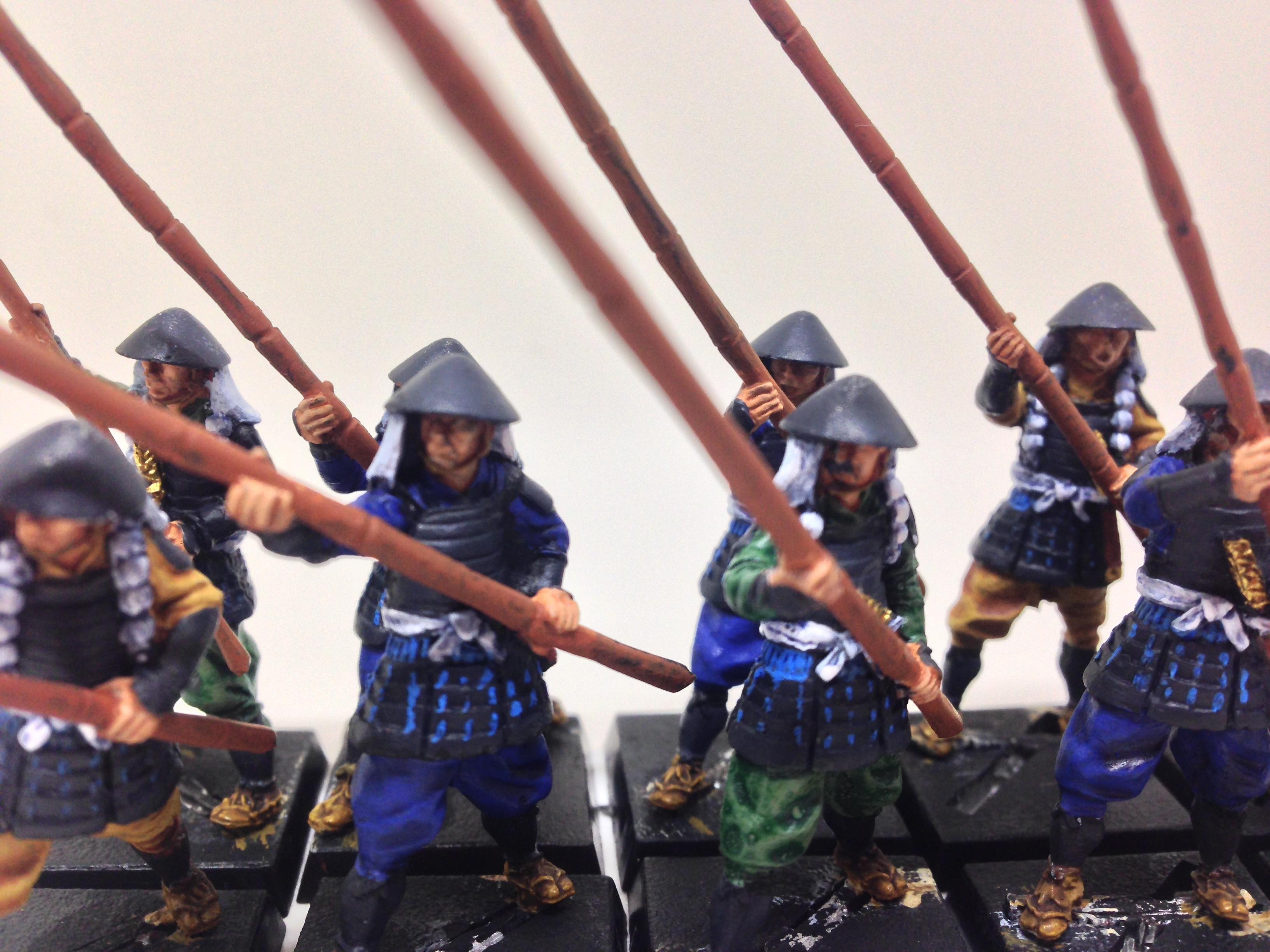 Samurai, Zenit ashiaru with yari close up