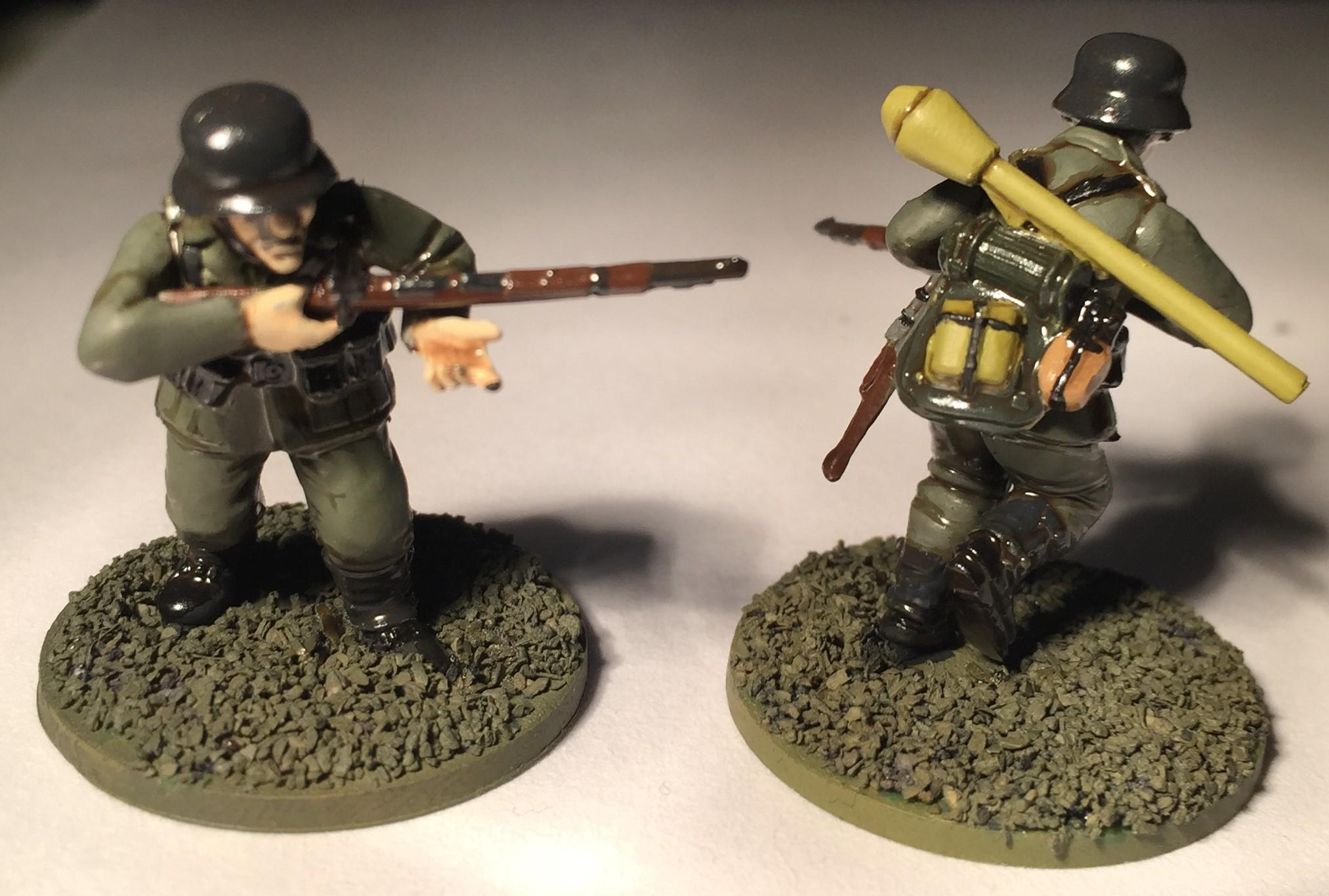 Bolt Action, German Infantry, Warlord Games, Wehrmacht