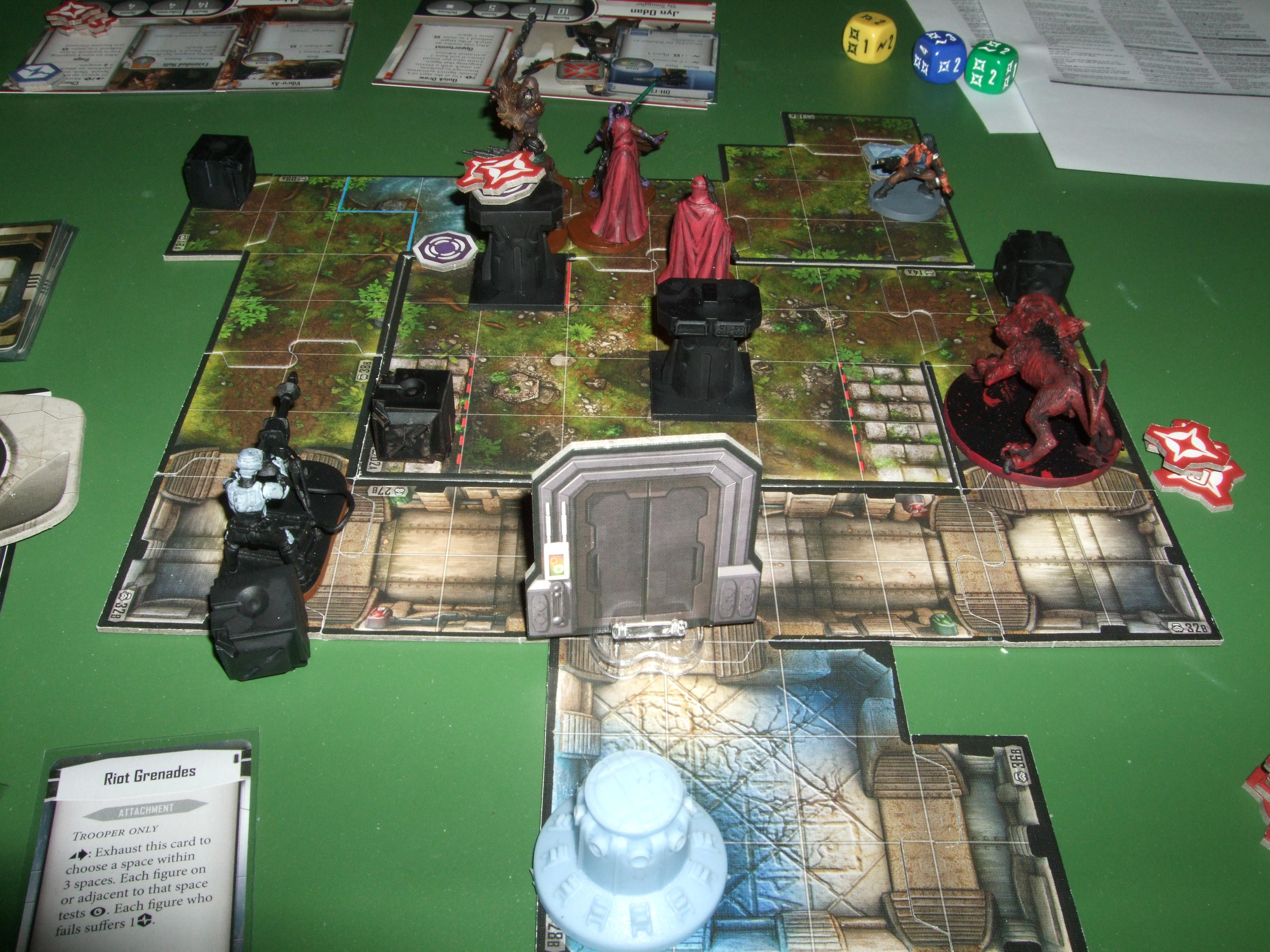 Battle Report, Campaign, Darth Vader, Imperial Assault, Jedi, Star Wars, Temptation, Wookiee