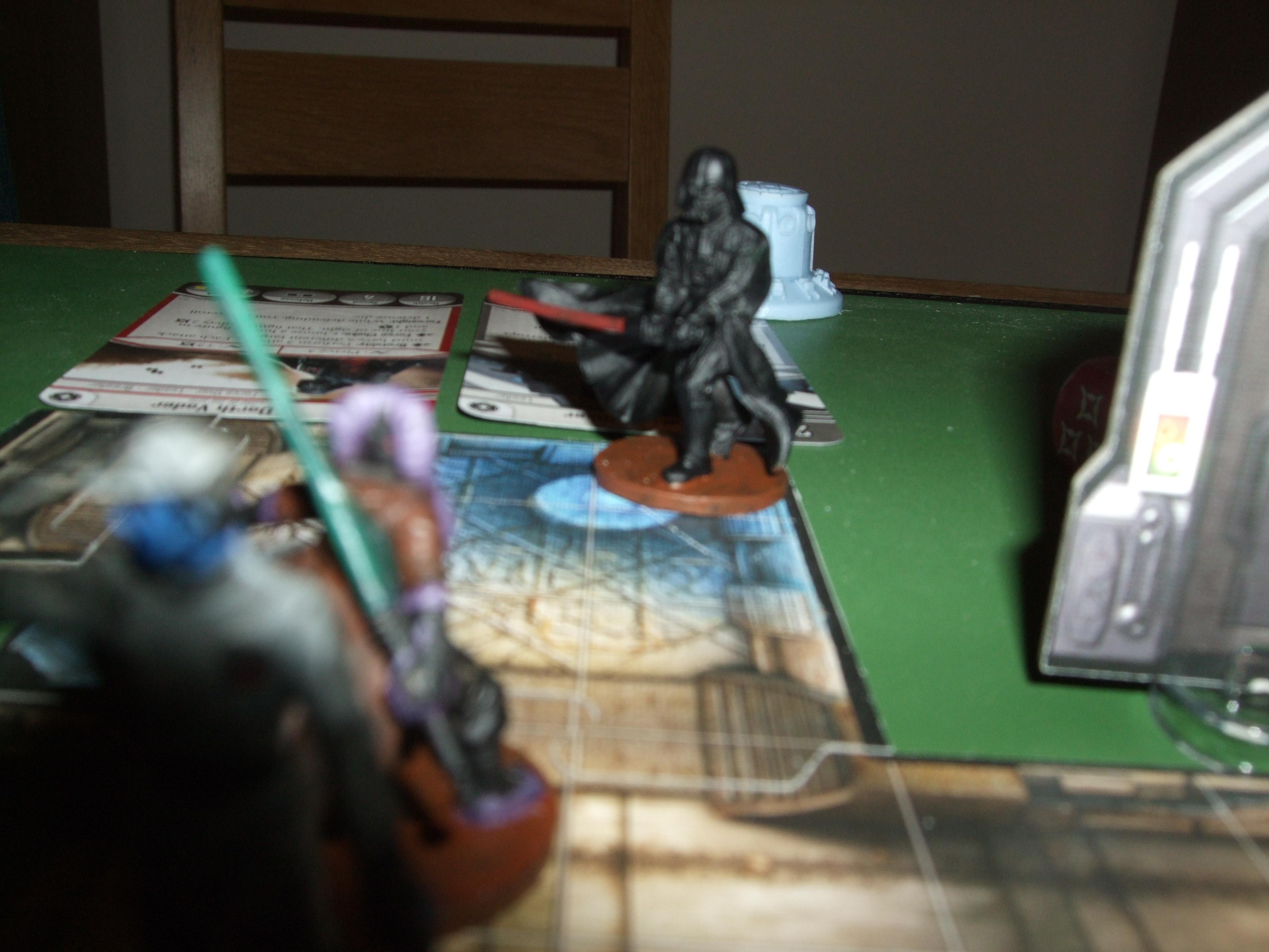 Battle Report, Campaign, Darth Vader, Imperial Assault, Jedi, Star Wars, Temptation, Wookiee