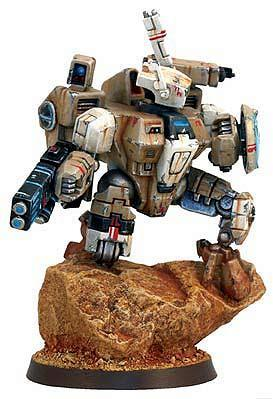 Crisis Battlesuit, Tau, Weathered