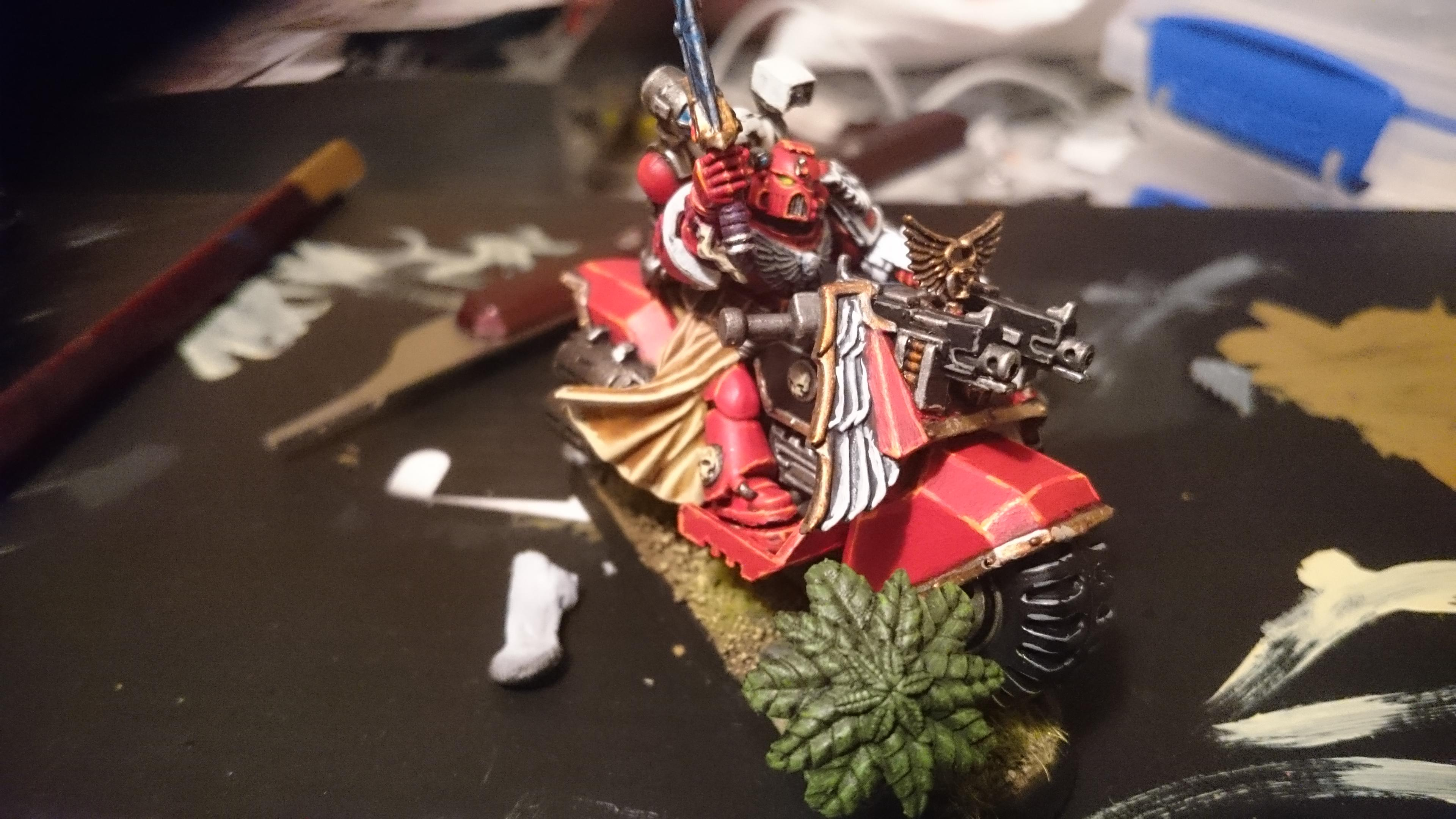 Sanguinary Priest, Sanguinary Priest On Bike, Space Marines