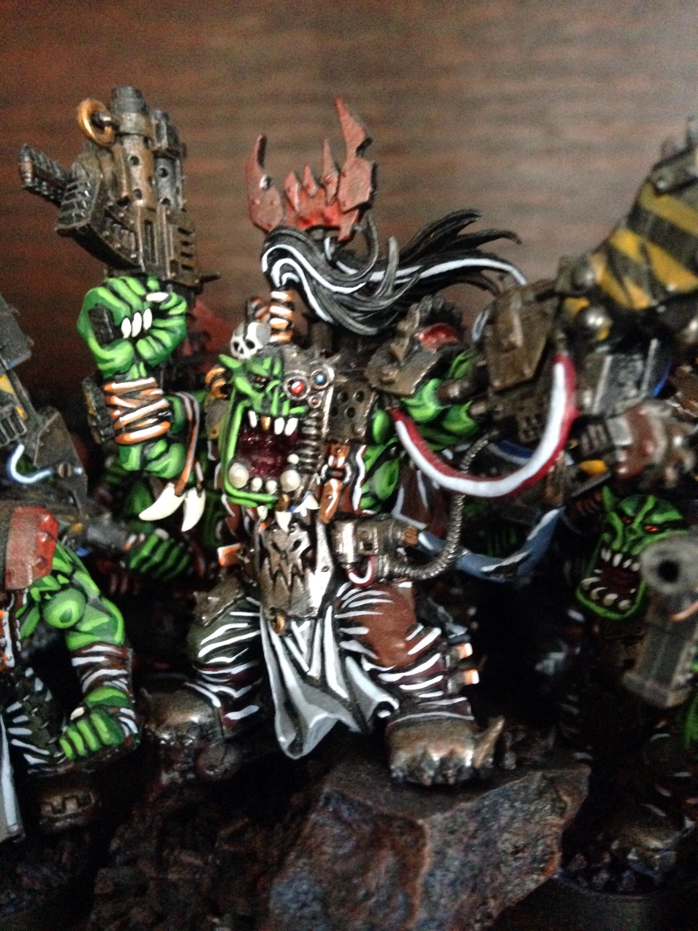 Orks, Power Claw, Warboss