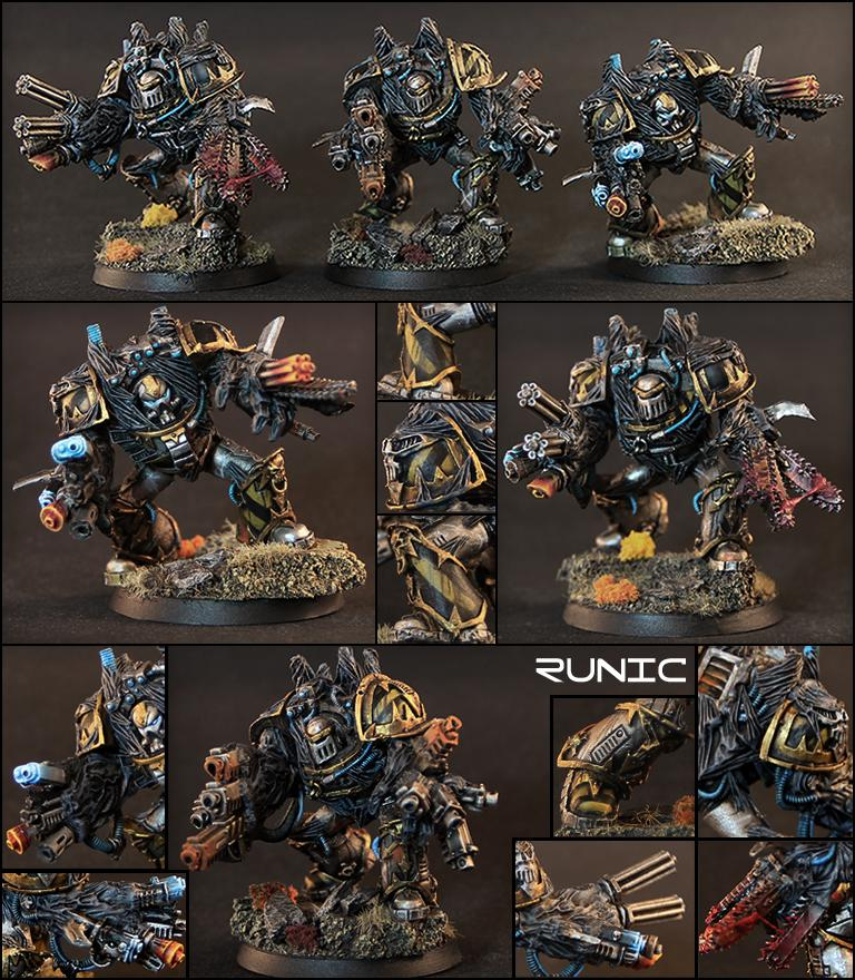 Assaultcannon, Chaos, Conversion, Daemons, Heavy Weapon, Iron, Kitbash, Living Weapon, Mk3, Obliterators, Preheresy, Siege, Special Weapon, Terminator Armor, Warriors