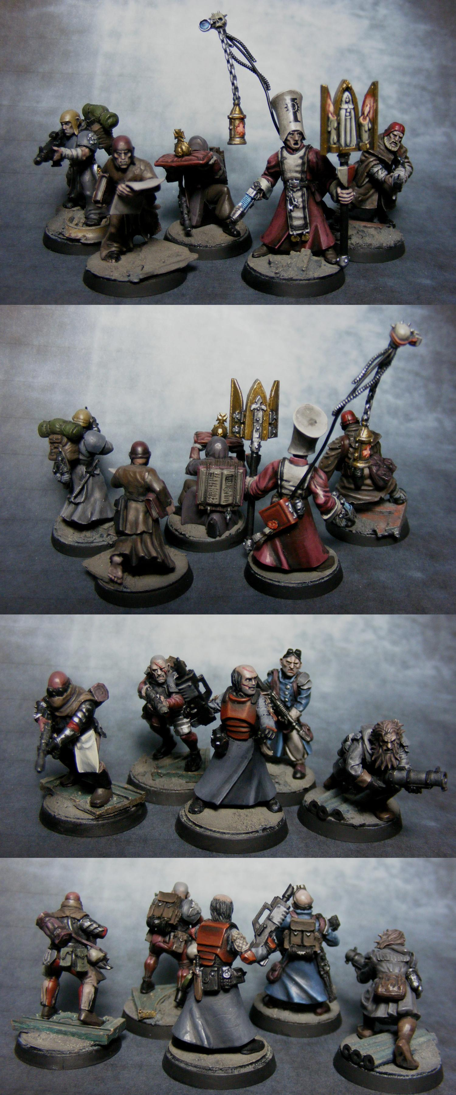 Conversion, Empire, Henchmen, Imperial Guard, Inquisition, Milita, Warhammer 40,000