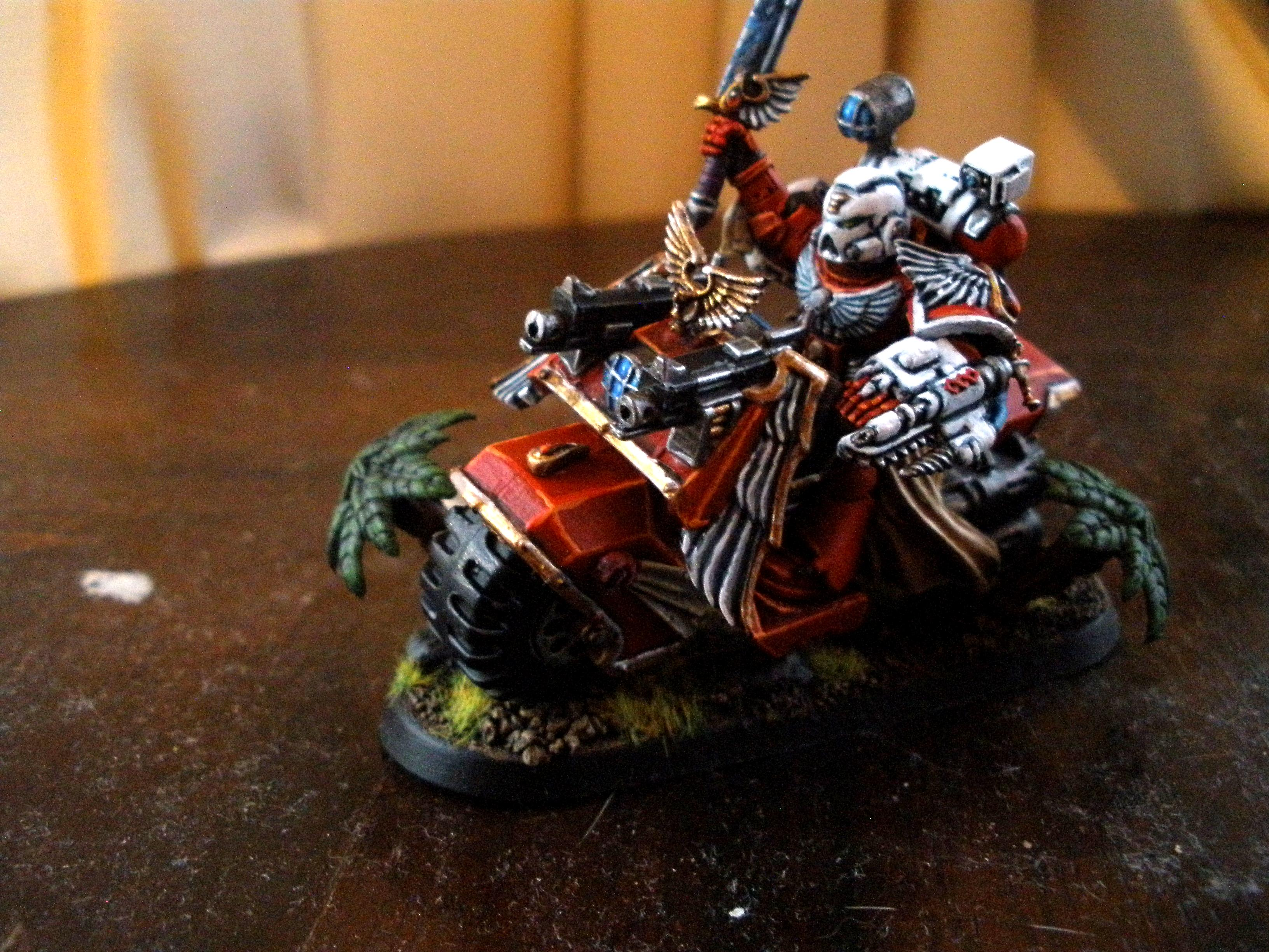 Bike, Blood Angels, Sanguinary Priest, Space Marines