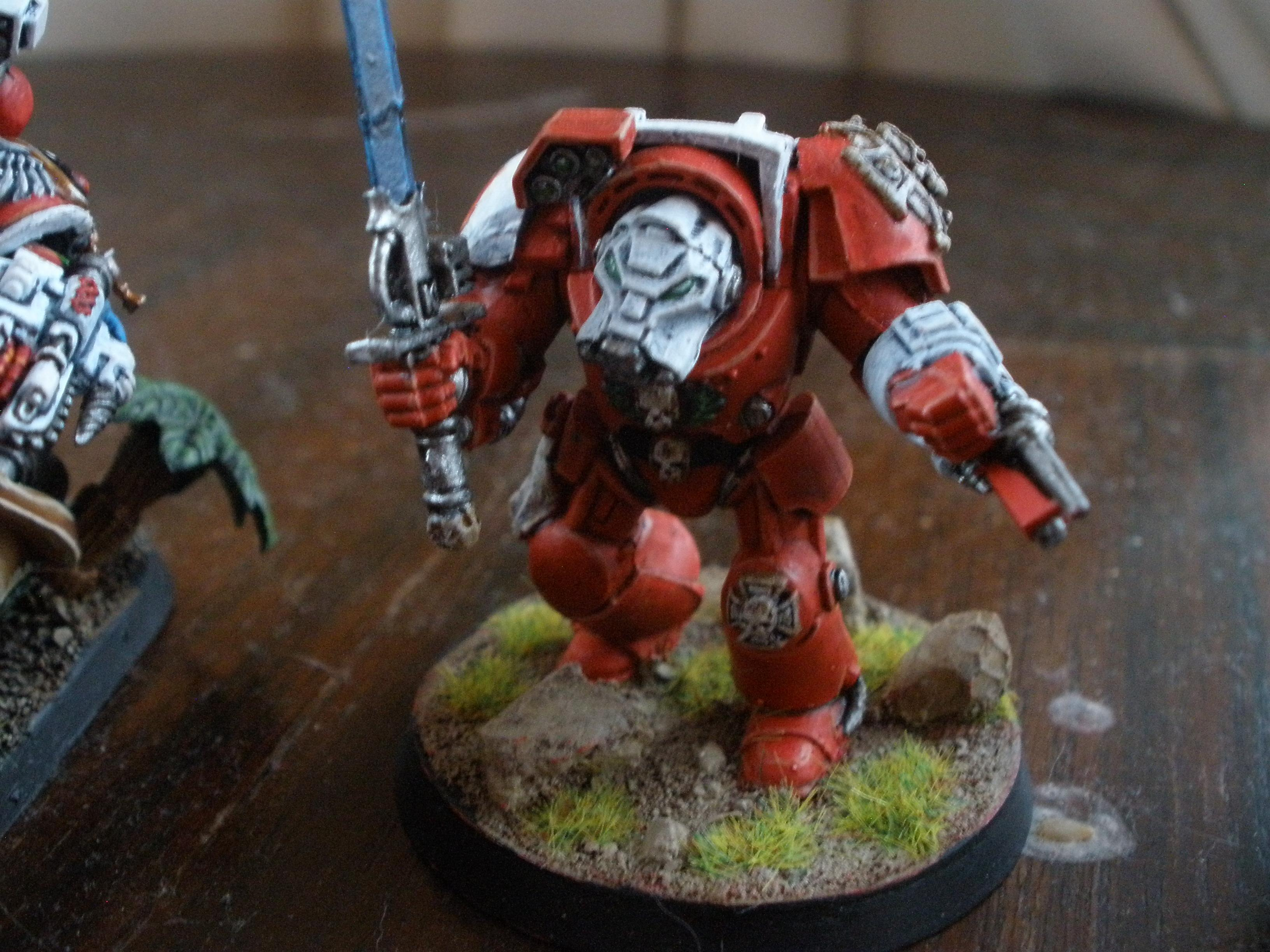 Blood Angels, Sanguinary Priest, Space Marines, Terminator Armor