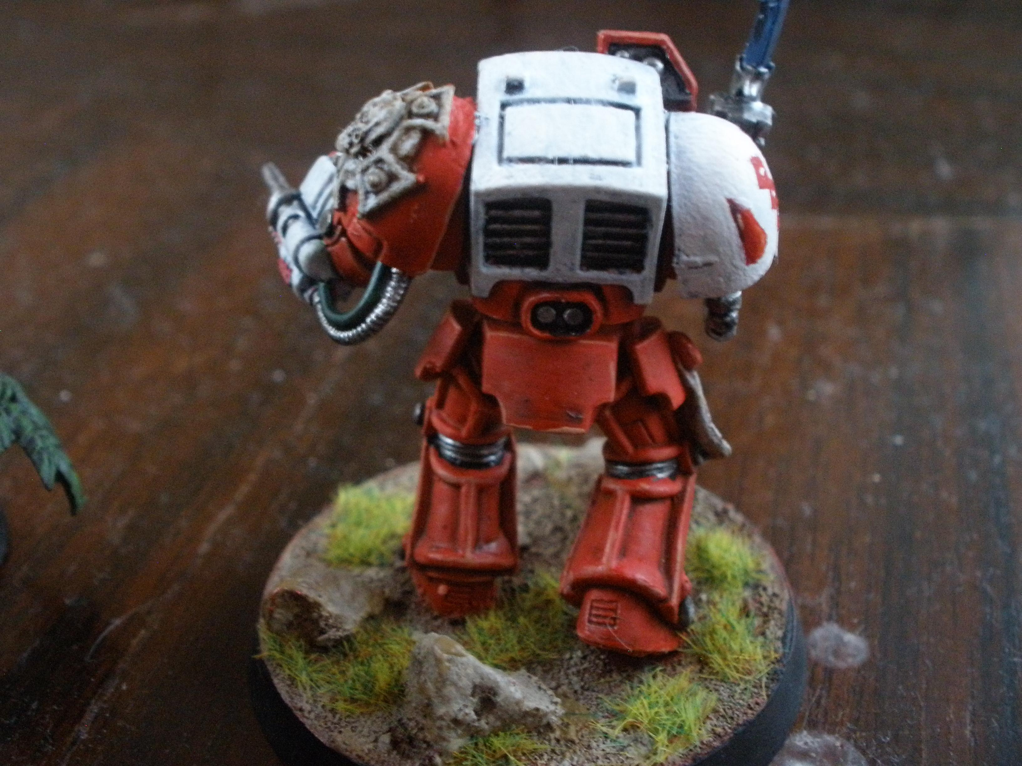 Blood Angels, Sanguinary Priest, Space Marines, Terminator Armor