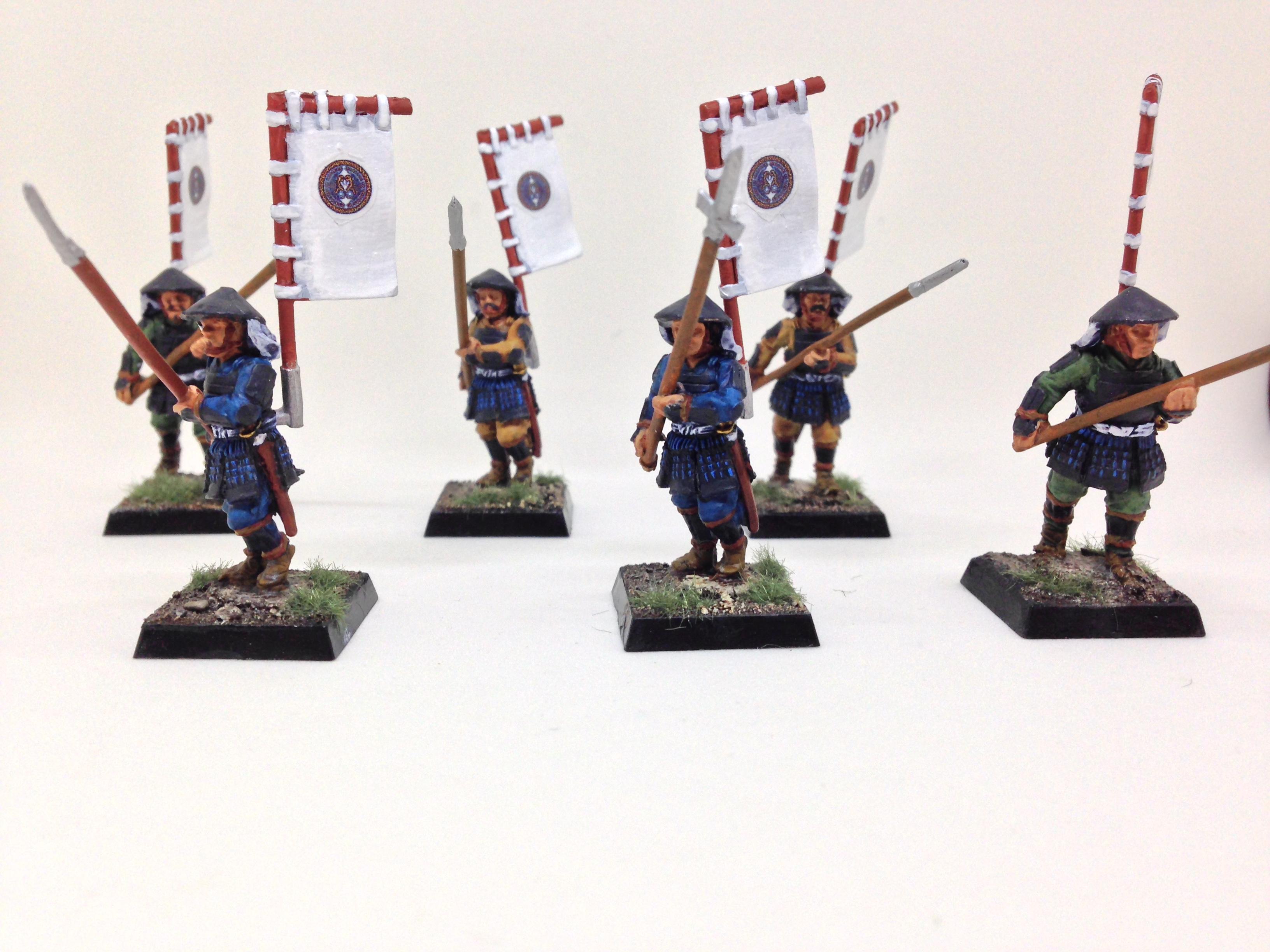 Ashigaru, Perry, Sashimono, Spear