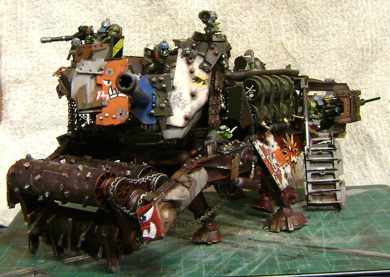 Battlewagon, Conversion, Looted, Orks