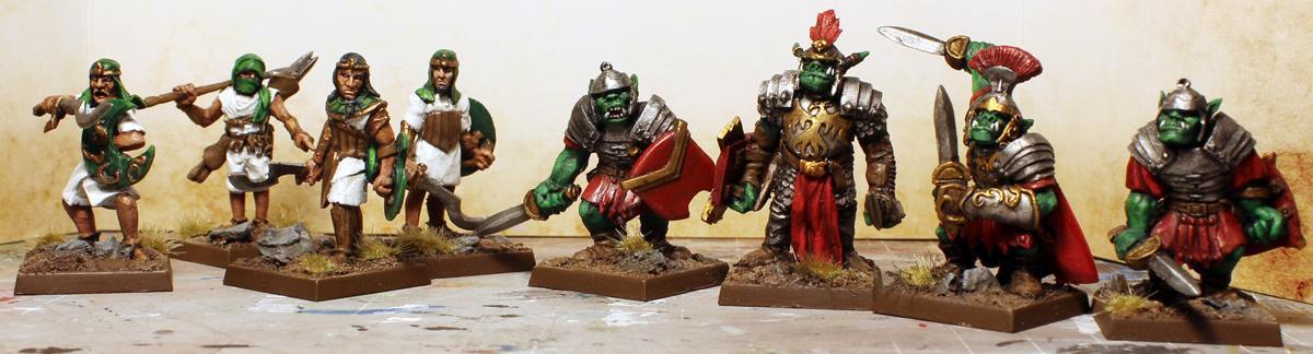 Furie, Fury, Gold, Green, Human, Legion, Orques, Paladin, Romans, Skirmish, White