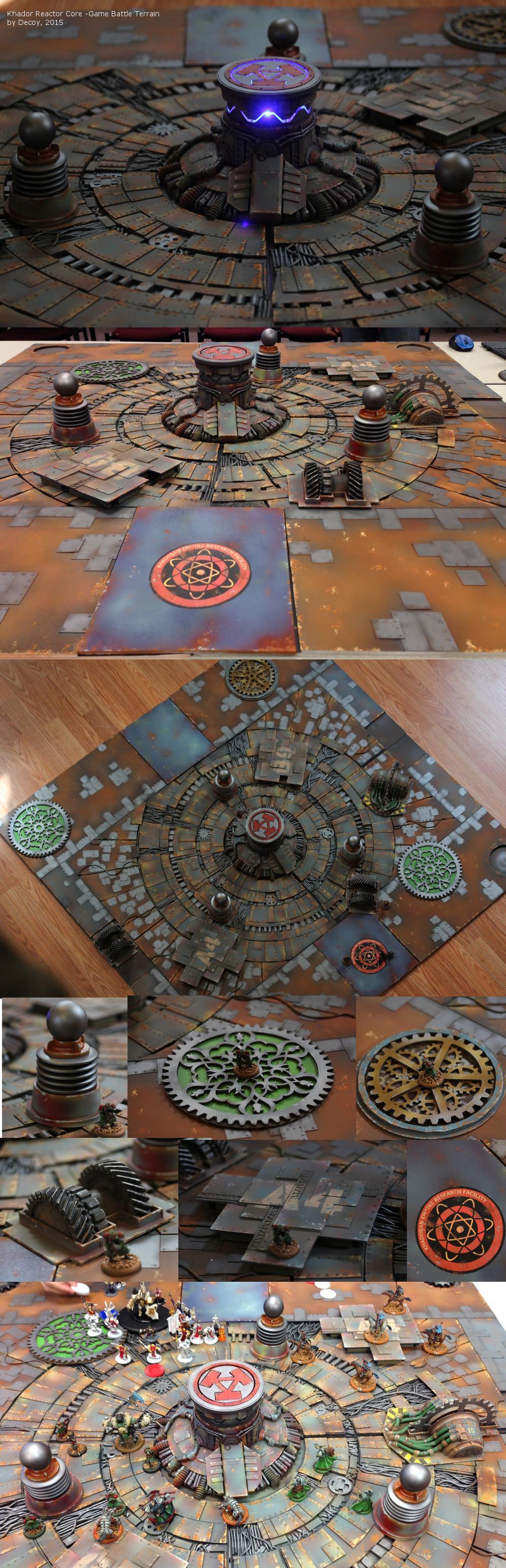 Artefact, Butcher, Cryx, Cygnar, Gameboard, Khador, Protectorate Of Menoth, Steampunk, Terrain, Warmachine