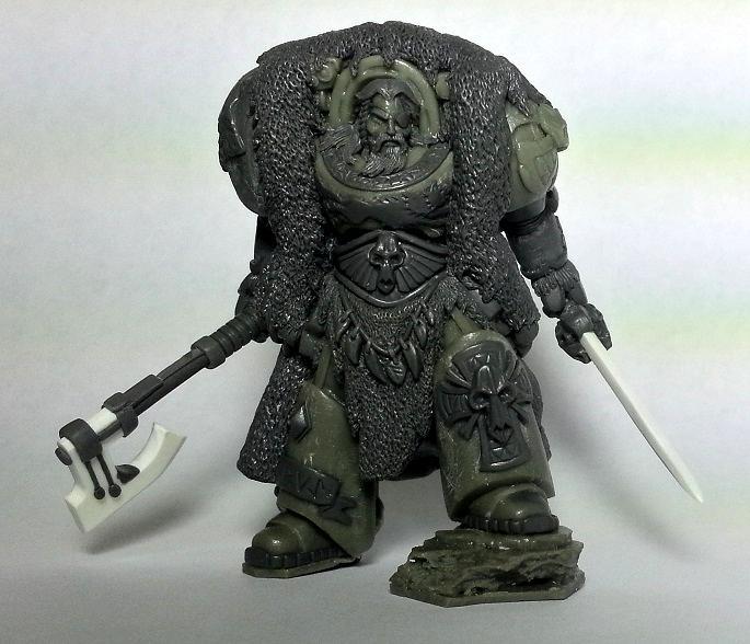 Leman Russ, Norse, Odin, Primarch, Space Wolves, Terminator Armor, True Scale