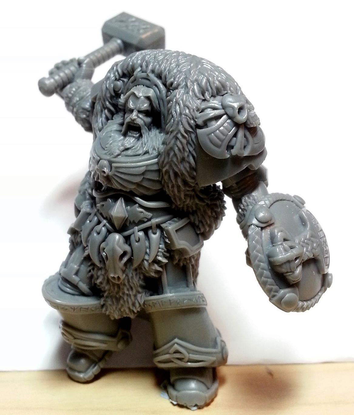 Norse, Space Wolves, Terminator Armor, Thor, True Scale