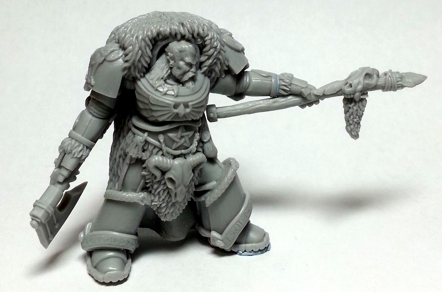 Leman Russ, Loki, Norse, Primarch, Rune Priest, Space Wolves, Terminator Armor, True Scale