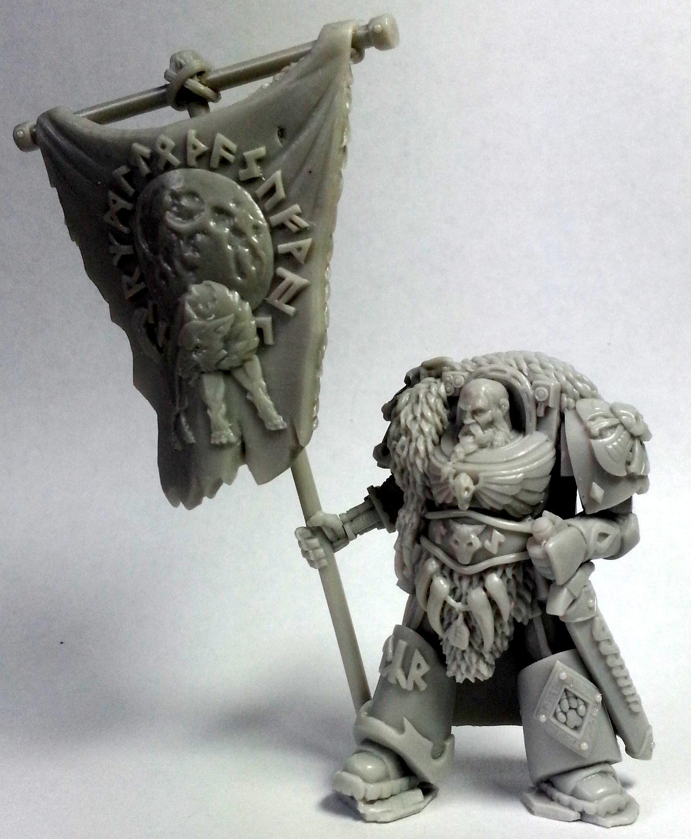 Norse, Standard Bearer, Terminator Armor, True Scale, Tyr
