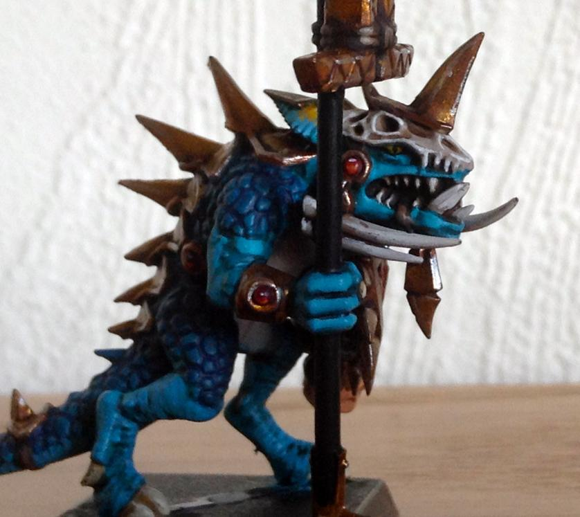Lizardmen, Temple Guard, Warhammer Fantasy
