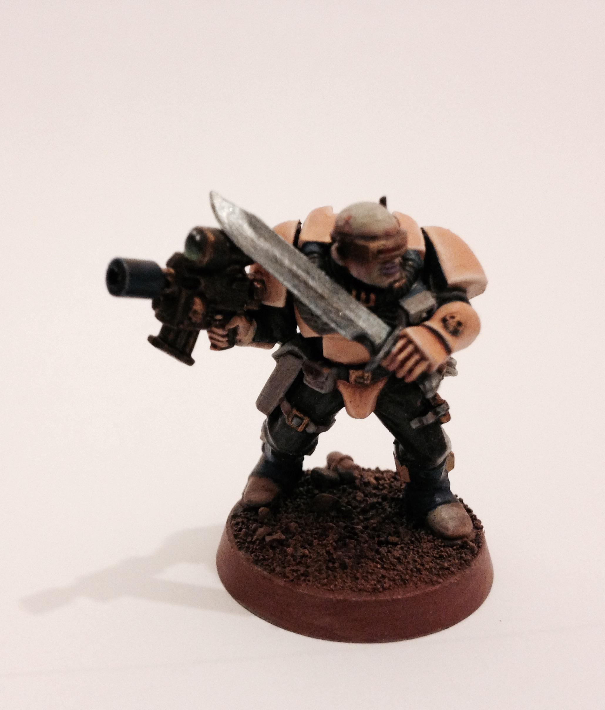 Object Source Lighting, Scouts, Space Marines, Visor, Warhammer 40,000