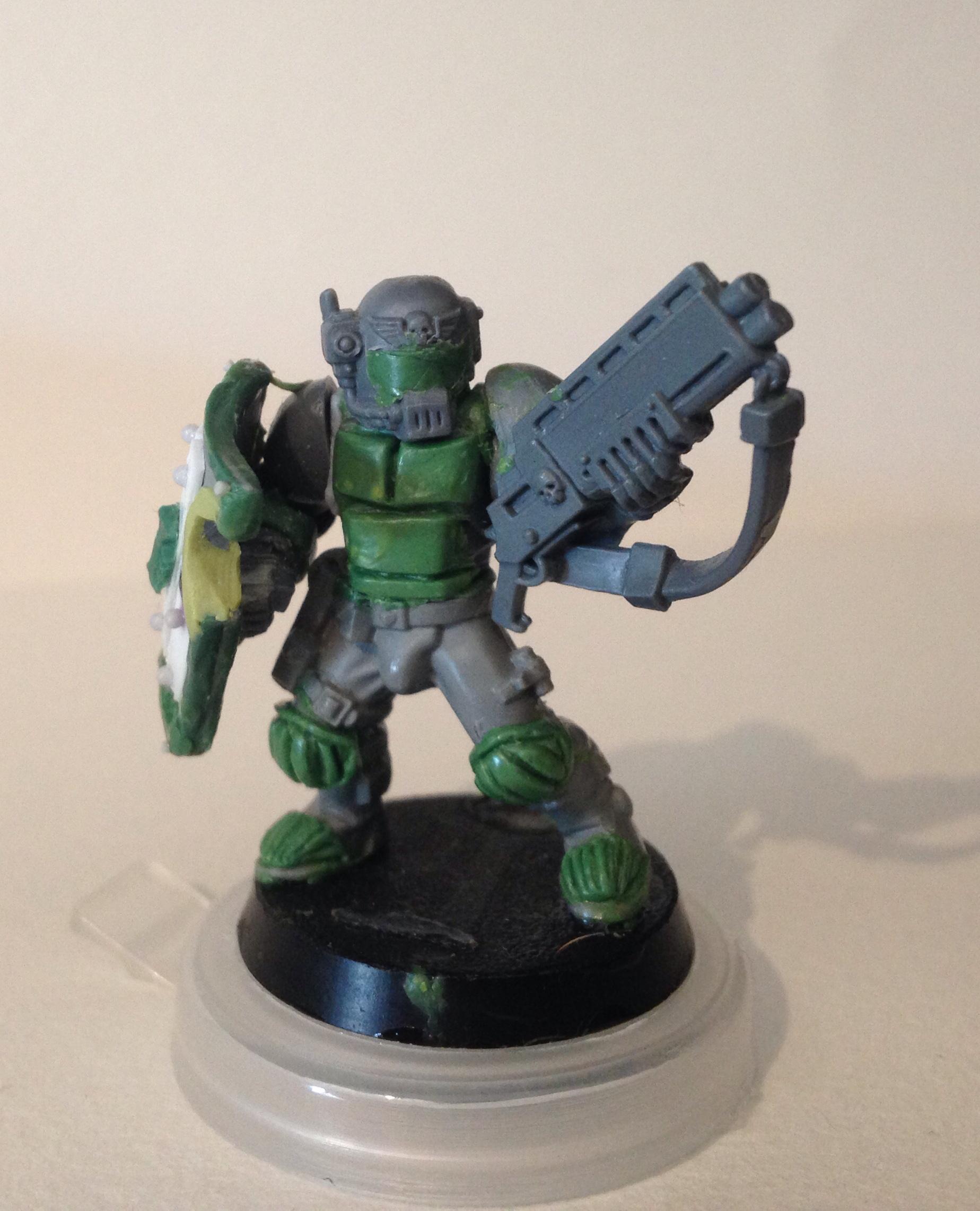 Adeptus Arbites, Enforcer, Inq28, Necromunda