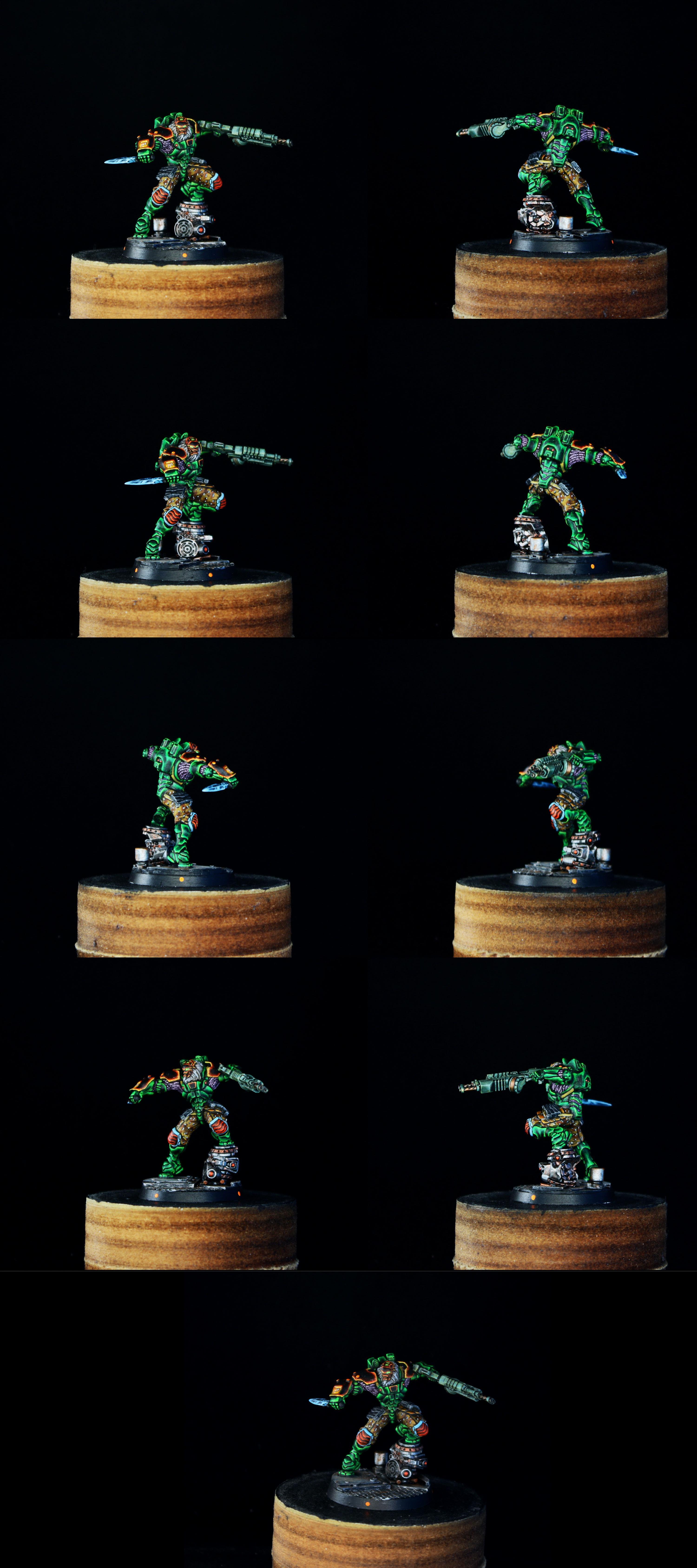 Infinity, Infinity: Combined army - Raktorak, Morat Major Sergeant (2015)