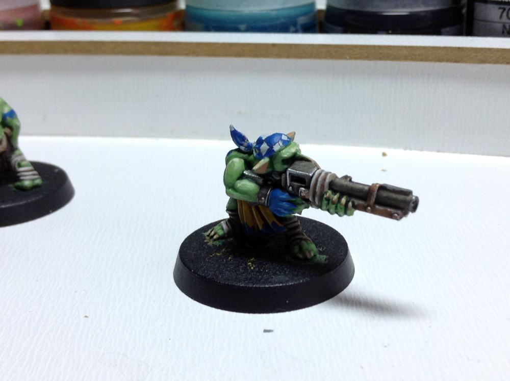 Deathskulls, Gretchin, Orks, Work In Progress