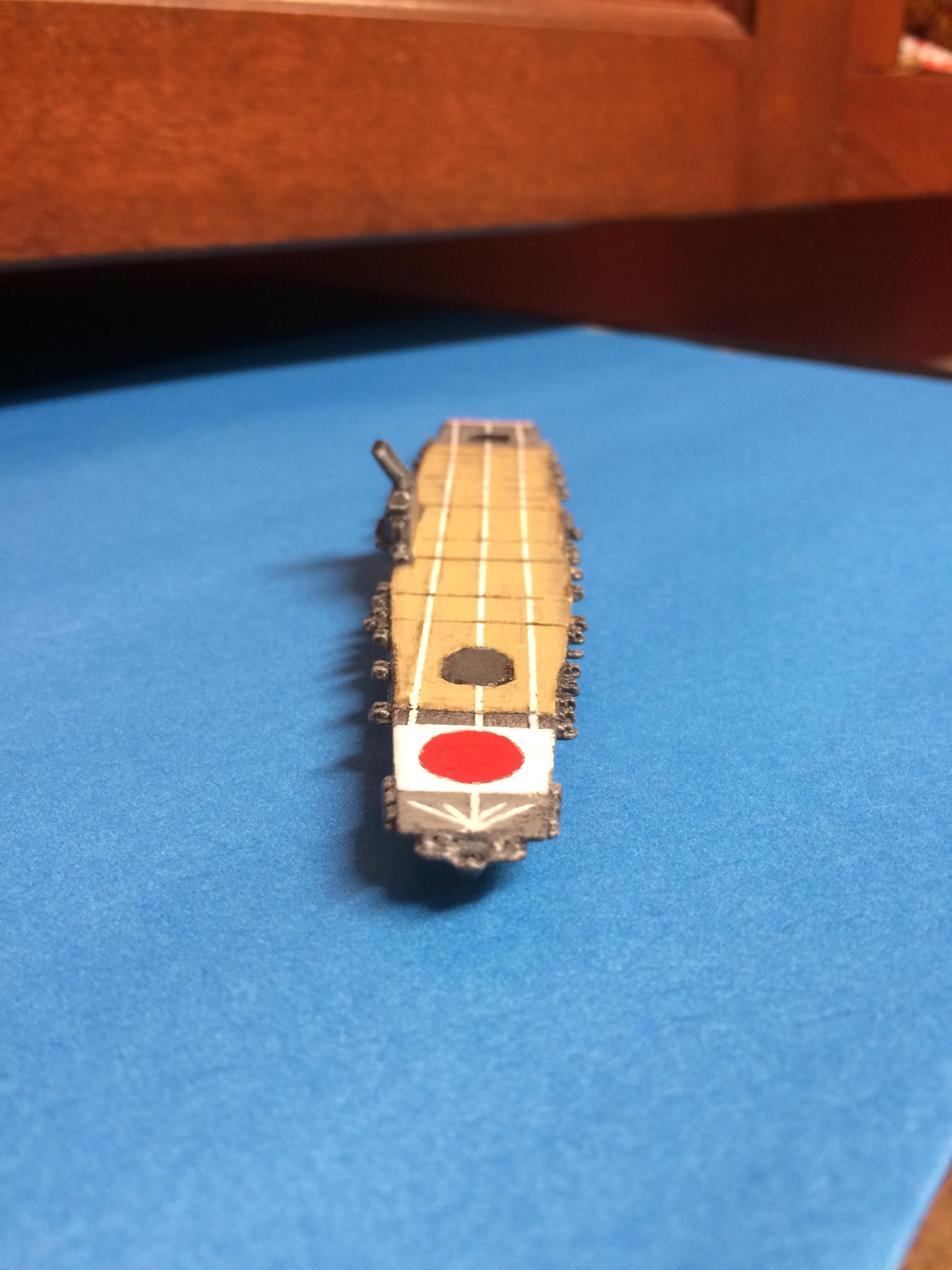 Carrier, Ijn, Japanese, Shapeways, Wart At Sea