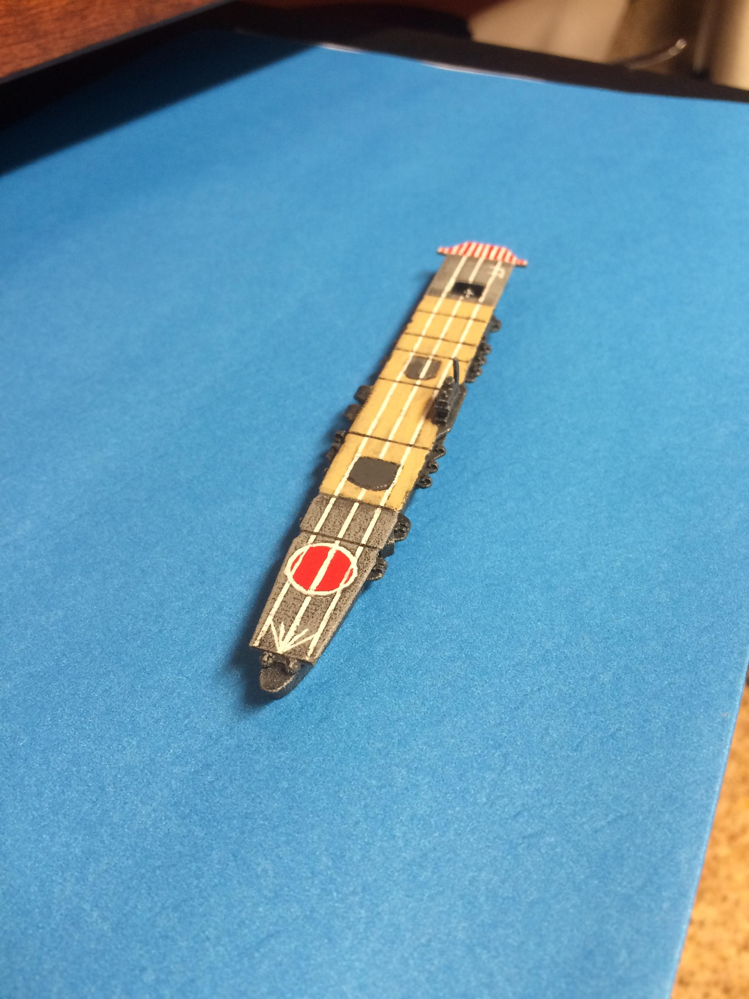 Carrier, Ijn, Japanese, Shapeways, Wart At Sea