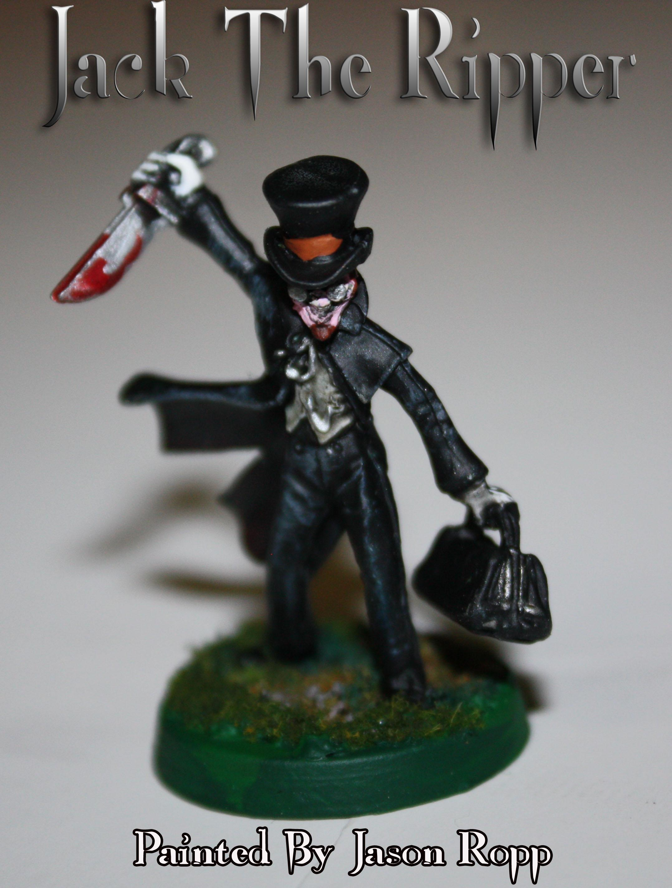 28mm, Jack The Ripper, Killer, Miniature, Ral Partha
