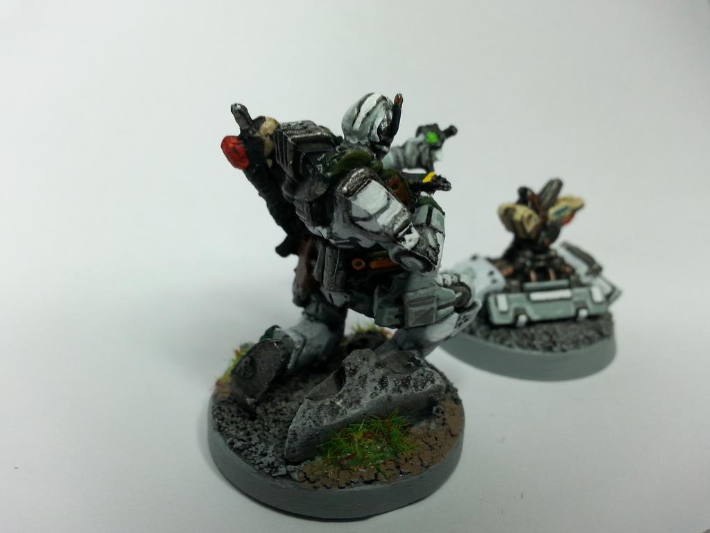 Banshees, Deadzone, Enforcer, Engineer, Geist, Mantic