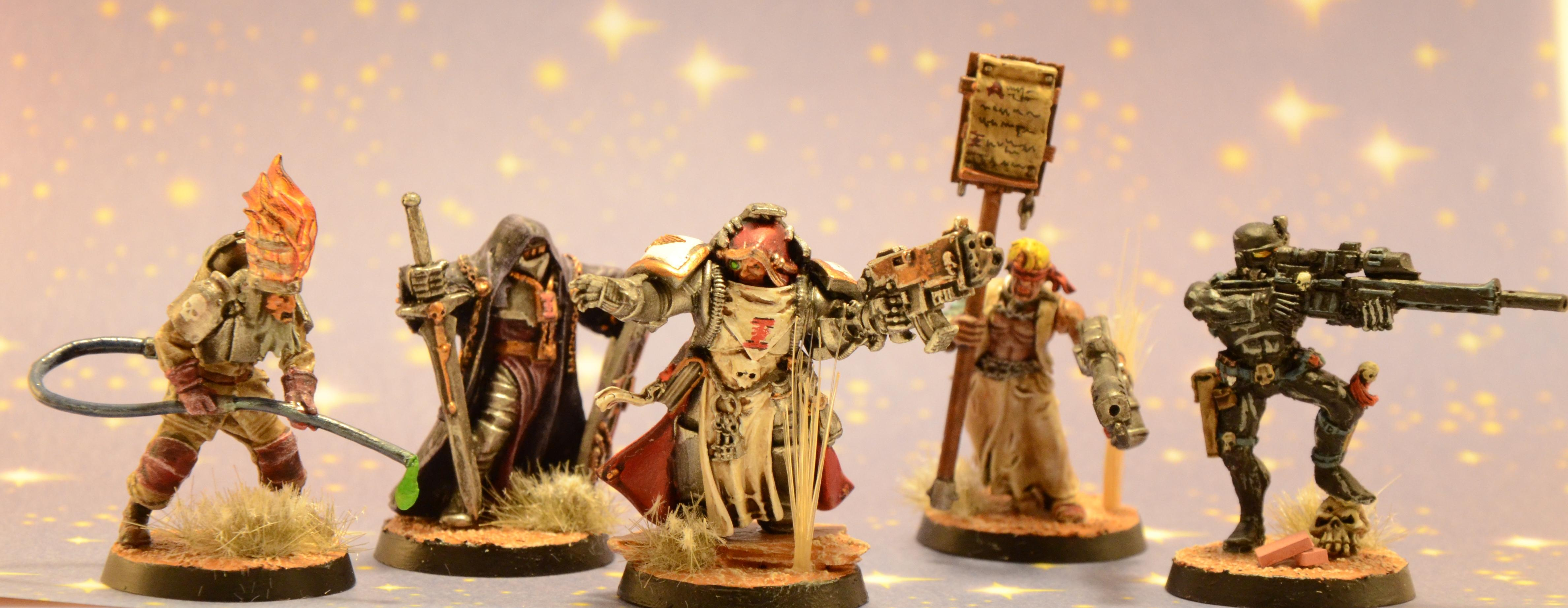 Inquisition, Inquisitor, Retinue