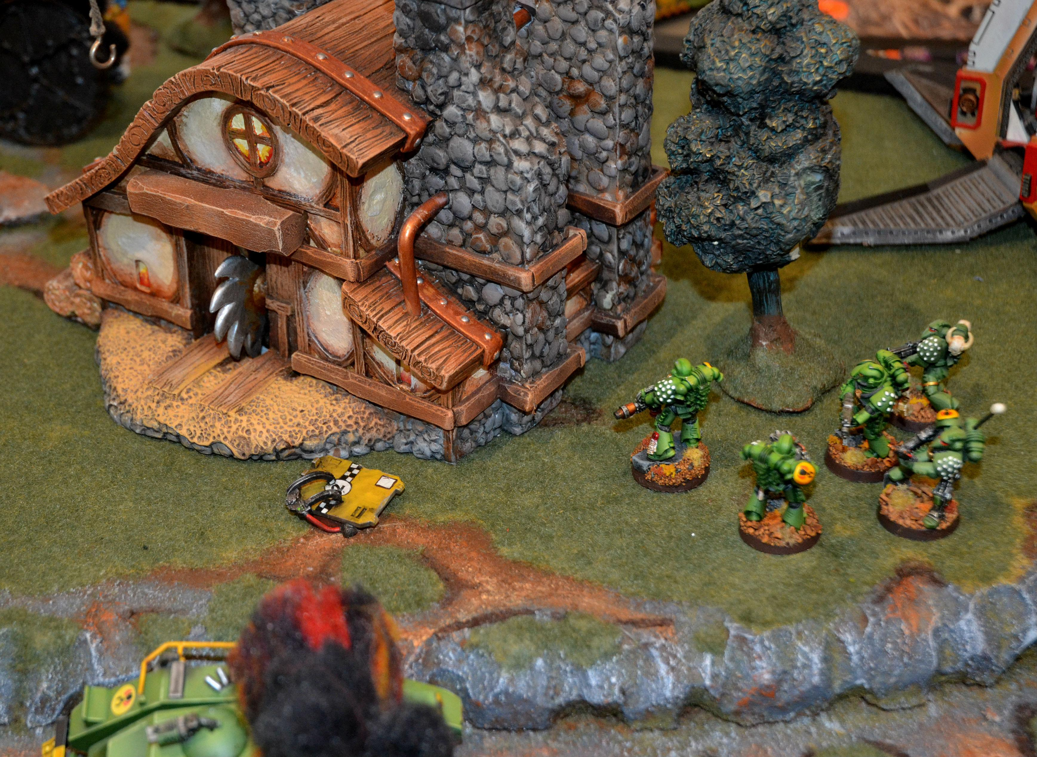 2015, Adepticon, Battle Report, Lamenters, Mantis Warriors, Warhammer 40,000