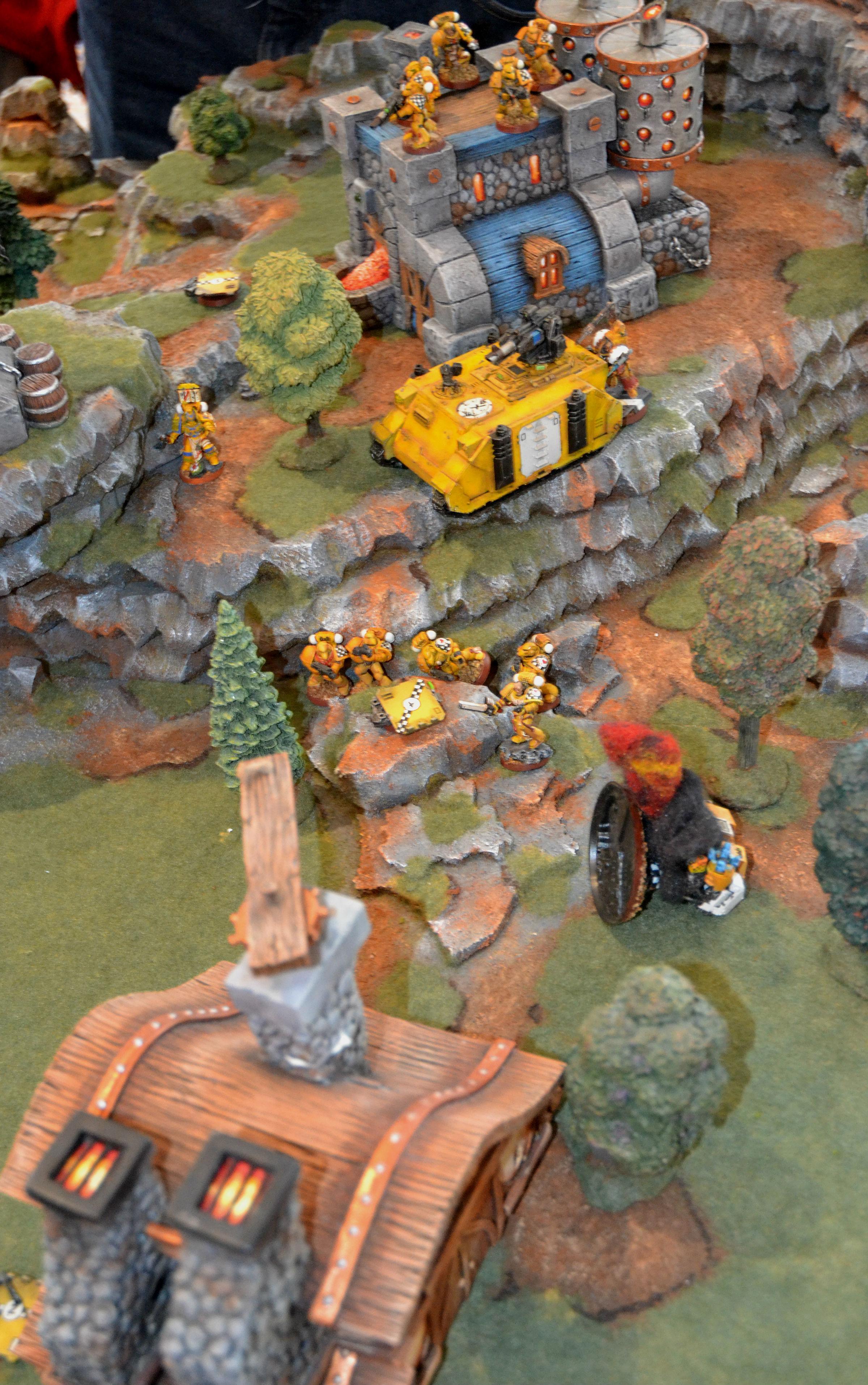2015, Adepticon, Battle Report, Lamenters, Mantis Warriors, Warhammer 40,000