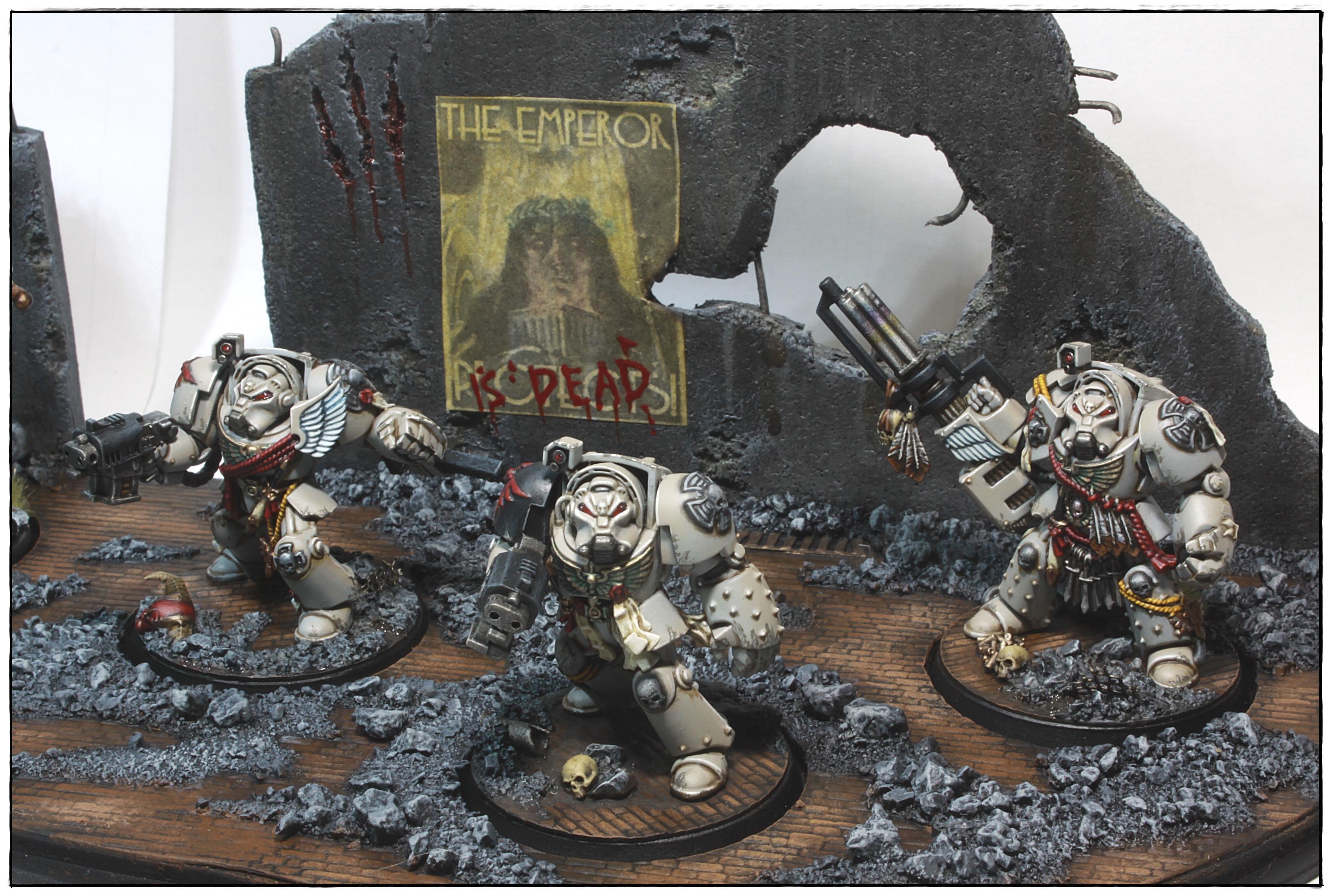 Dark Angels, Dark Vengeance, Deathwing, Squad Barachiel, Terminator Armor, Warhammer 40,000