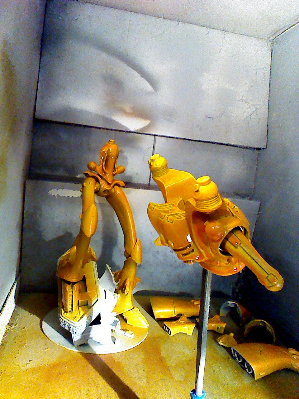 Craft World Lugganath, Eldar, Revenant, Silvermk2, Titan, Work In Progress
