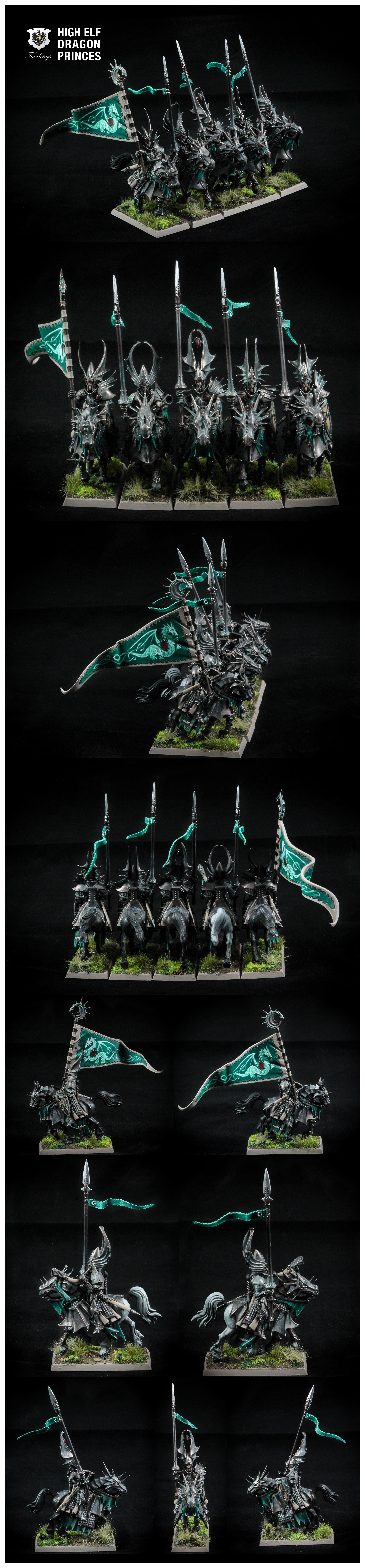 Dragon, Dragon Princes, High Elves, Warhammer Fantasy